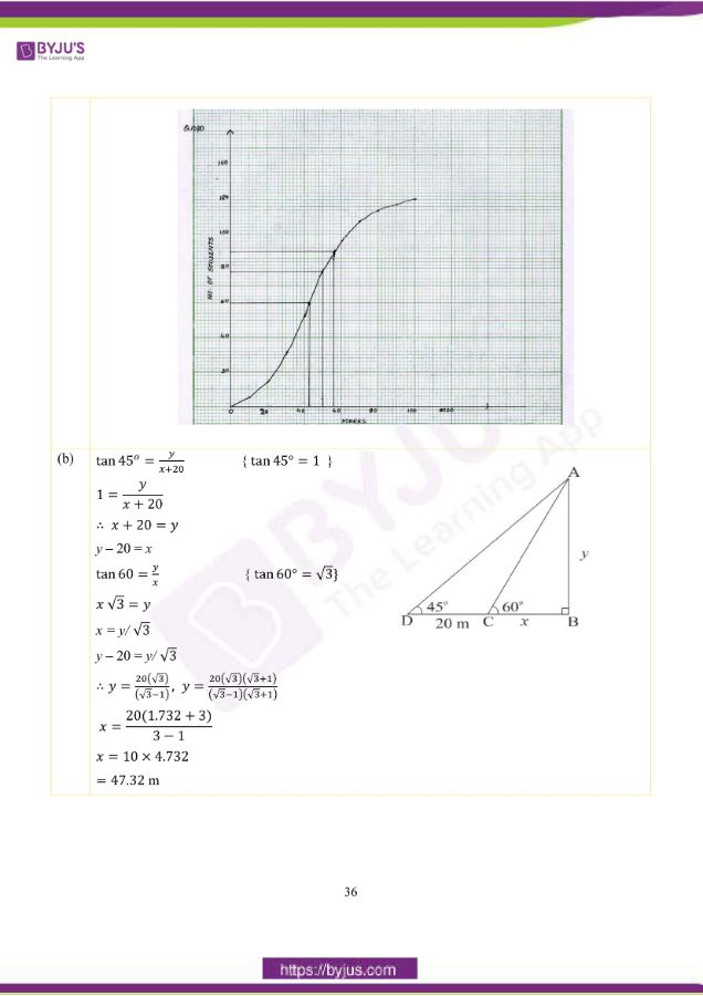 icse class 10 maths question paper solution 2019 27