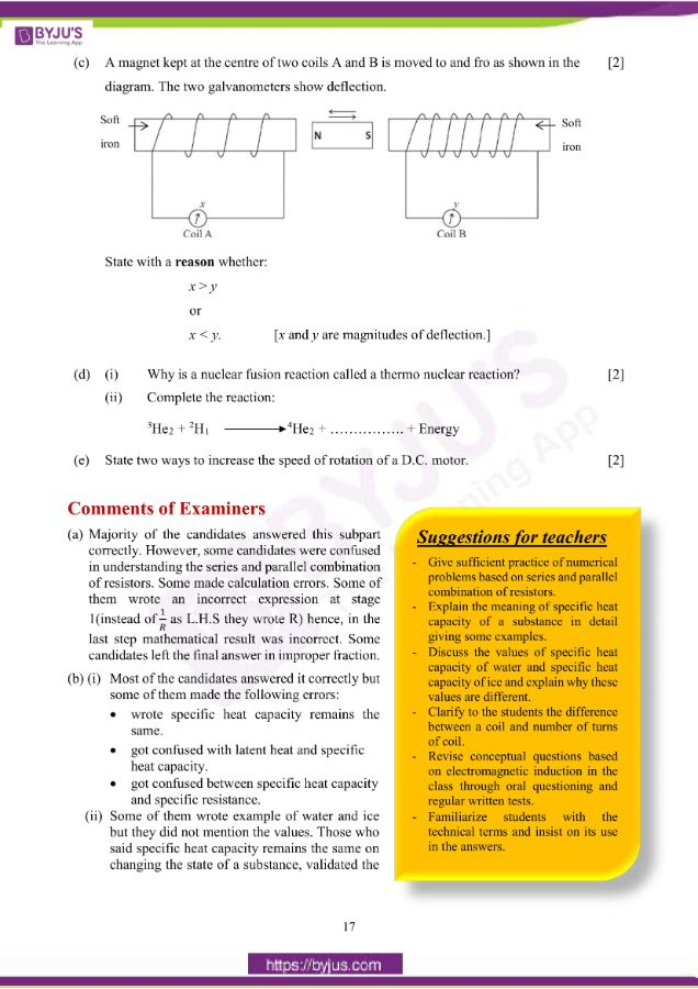 icse class 10 phy question paper solution 2019 08