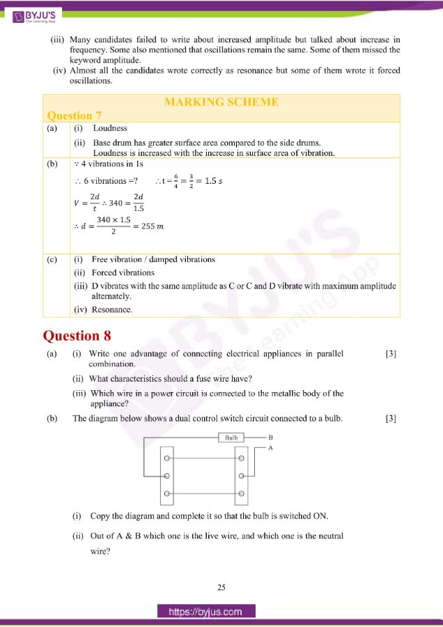 icse class 10 phy question paper solution 2019 16