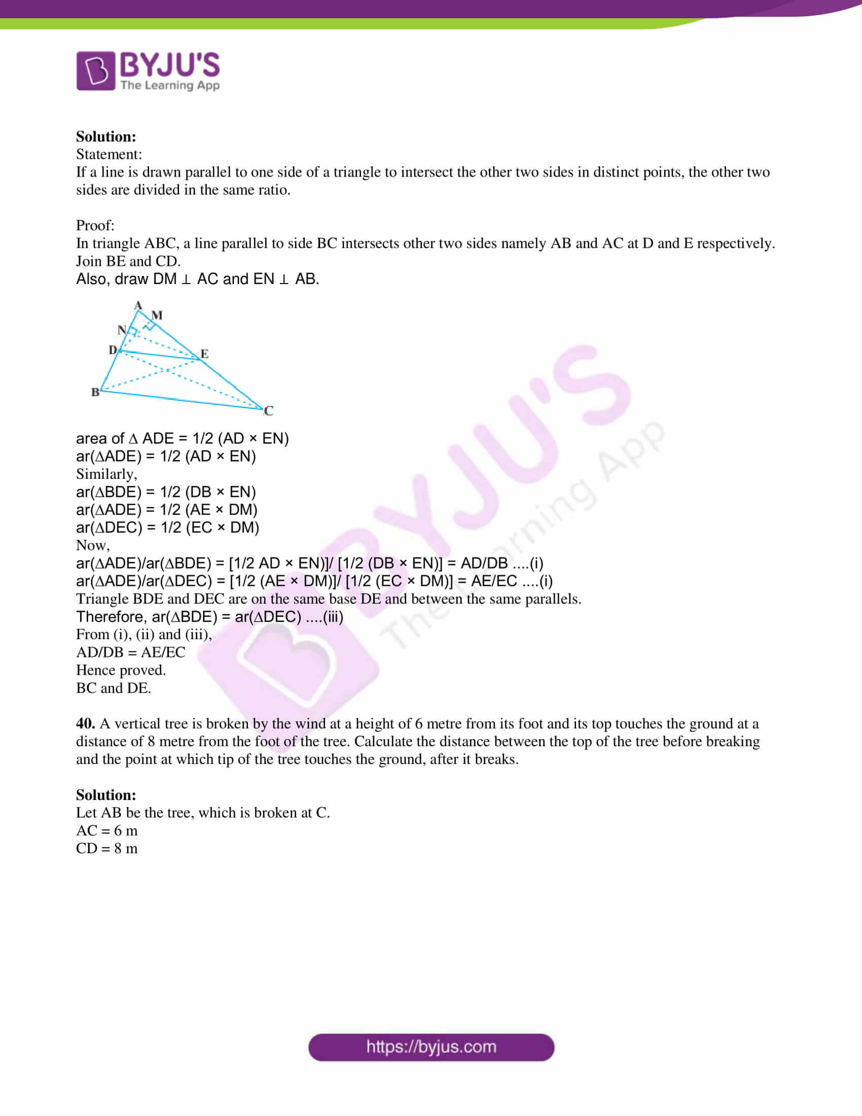 kseeb class 10 maths question paper solution 2018 21