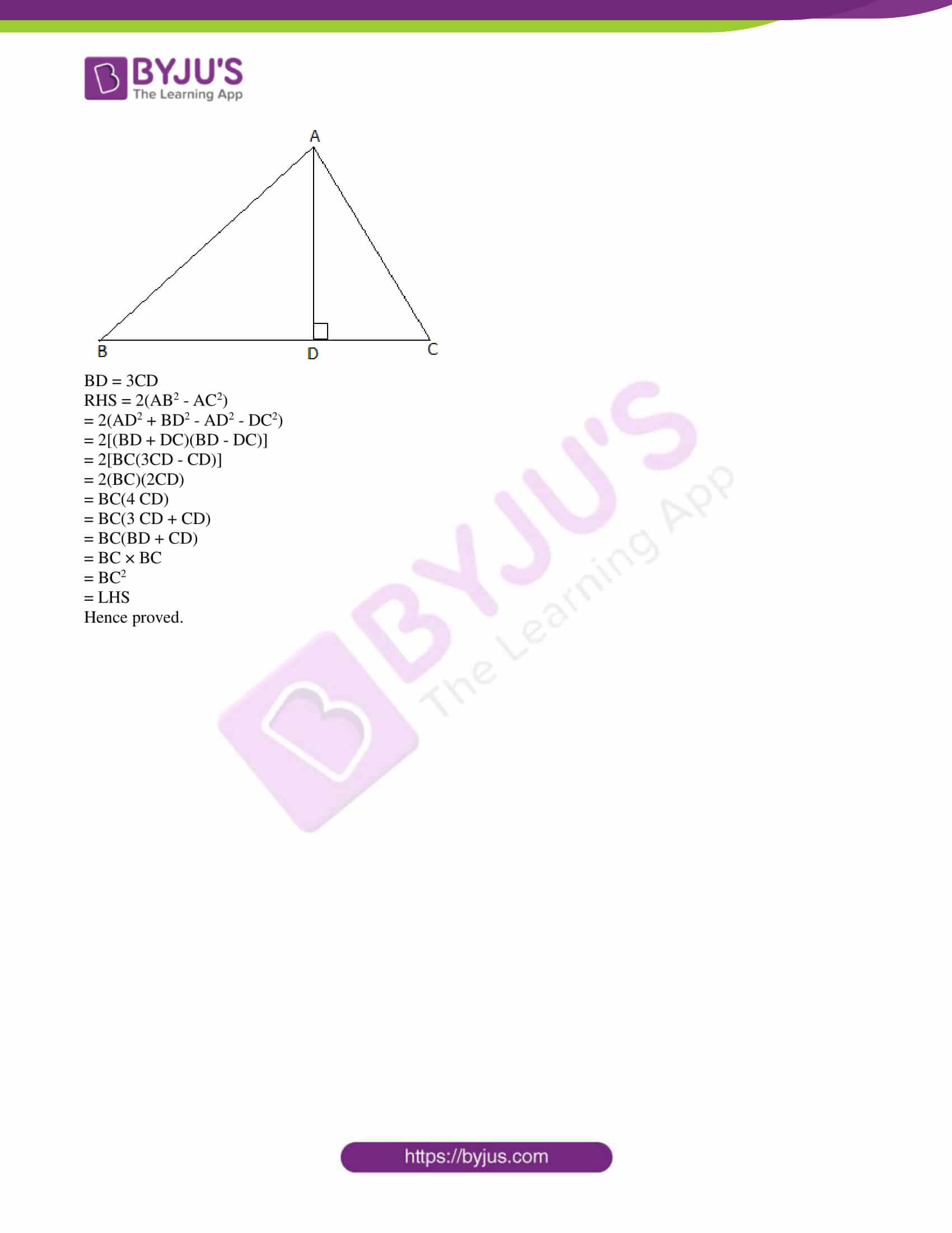 kseeb class 10 maths question paper solution 2018 23