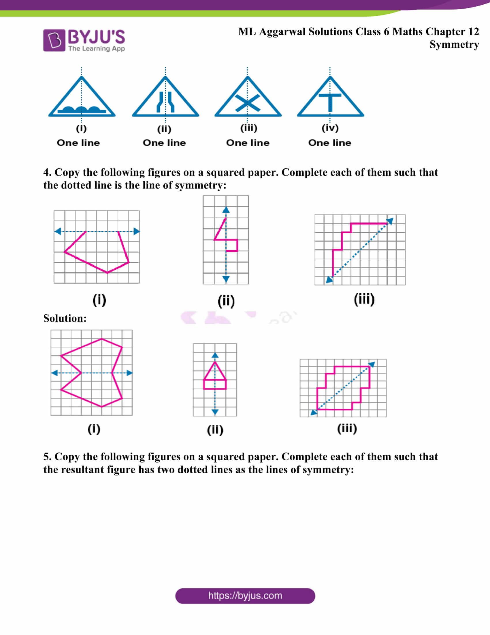 ml aggarwal sol class 6 maths chapter 12 3