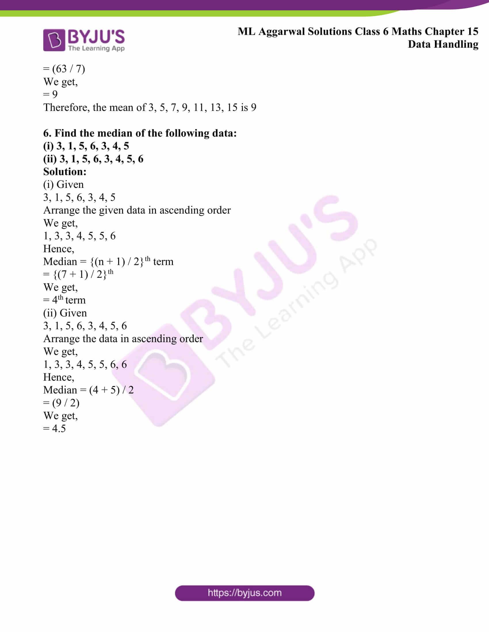 ml aggarwal sol class 6 maths chapter 15 4