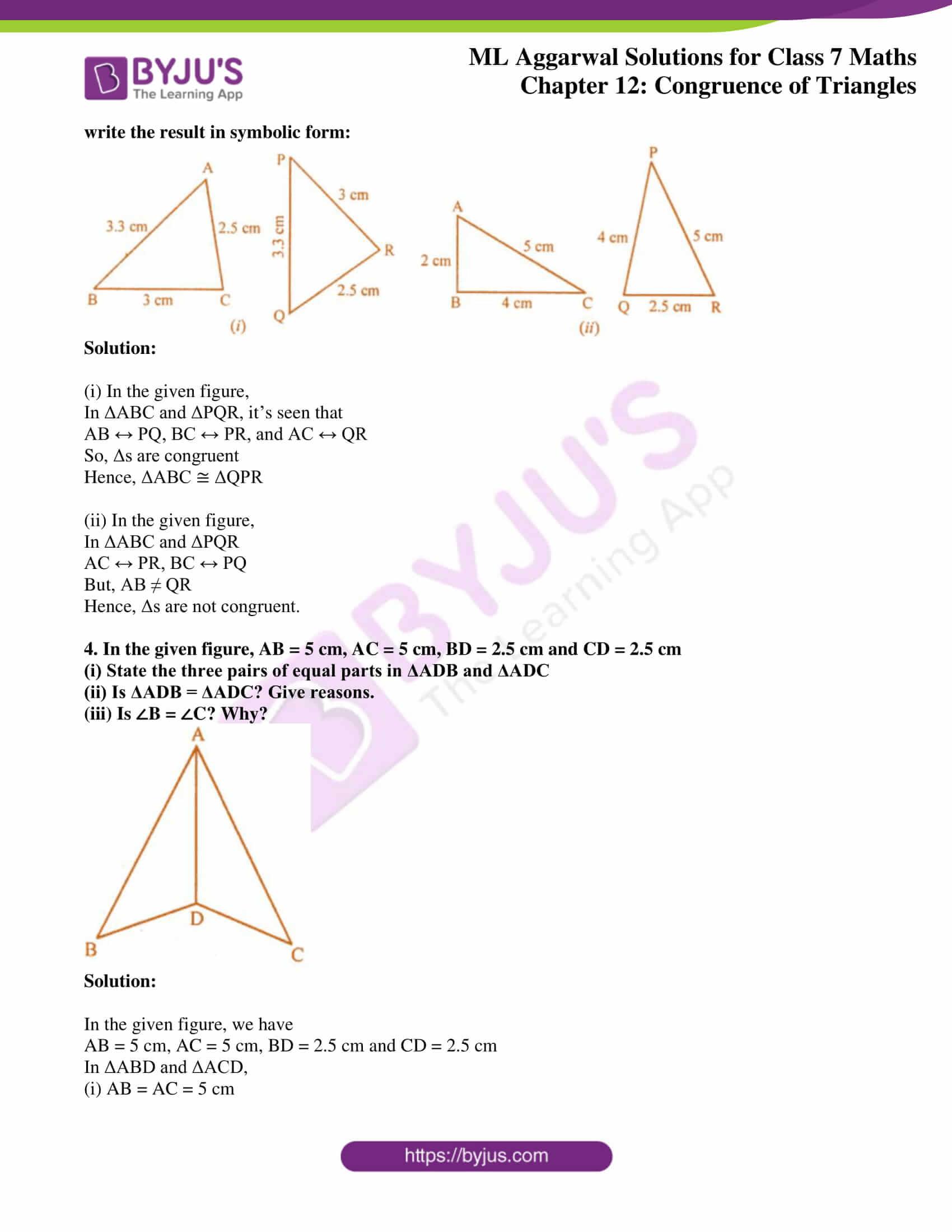 ml aggarwal sol class 7 maths chapter 12 2