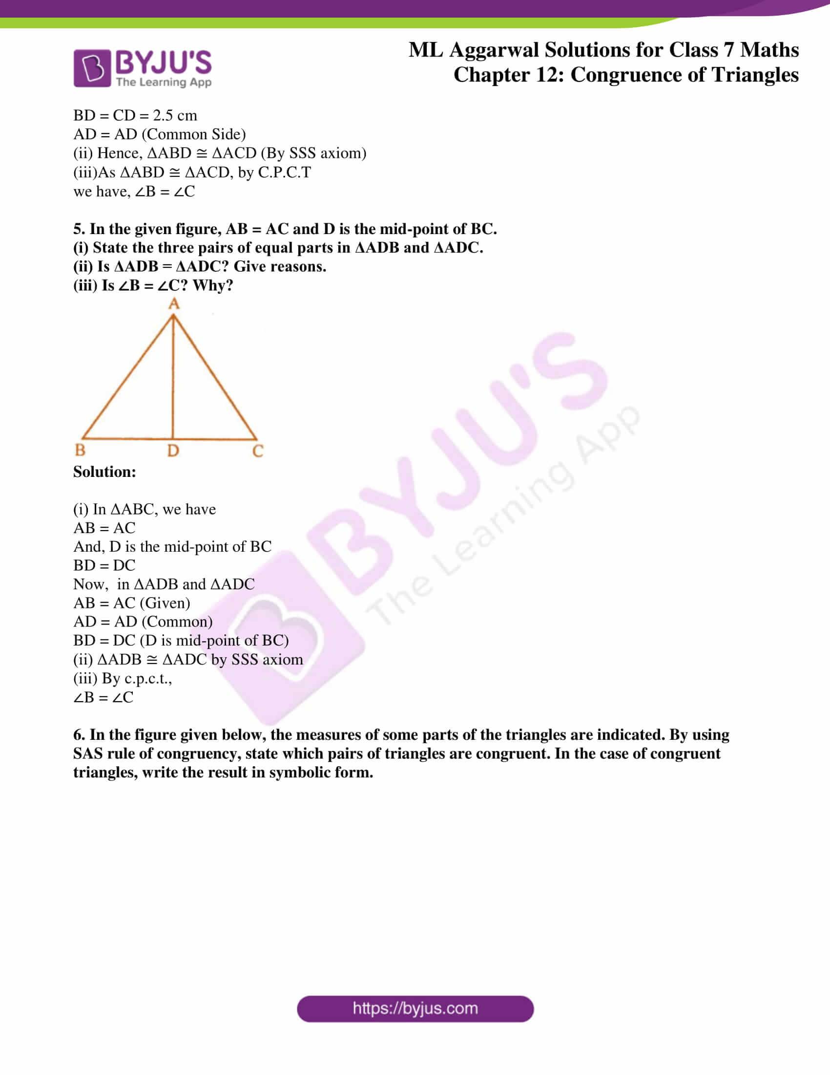 ml aggarwal sol class 7 maths chapter 12 3