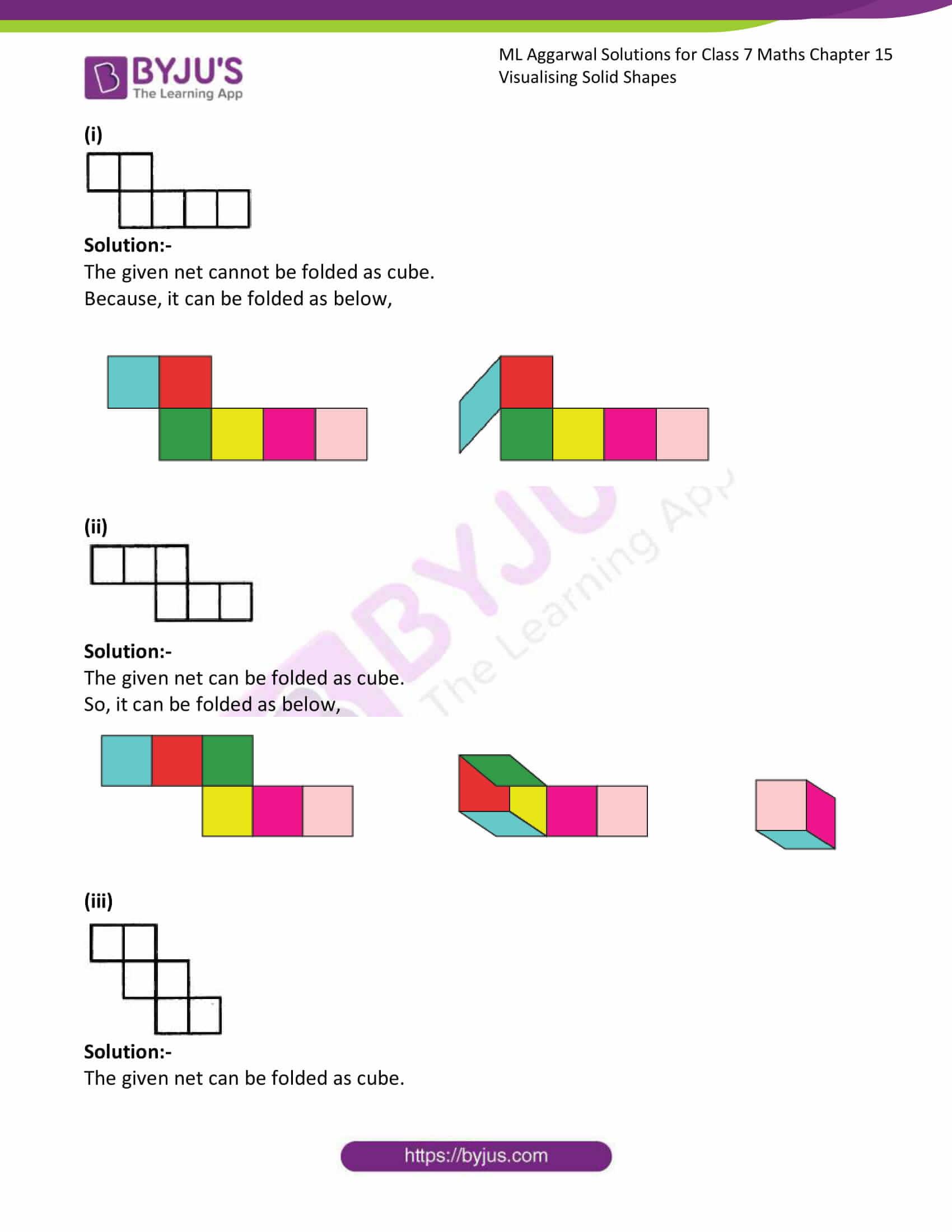 ml aggarwal sol class 7 maths chapter 15 3