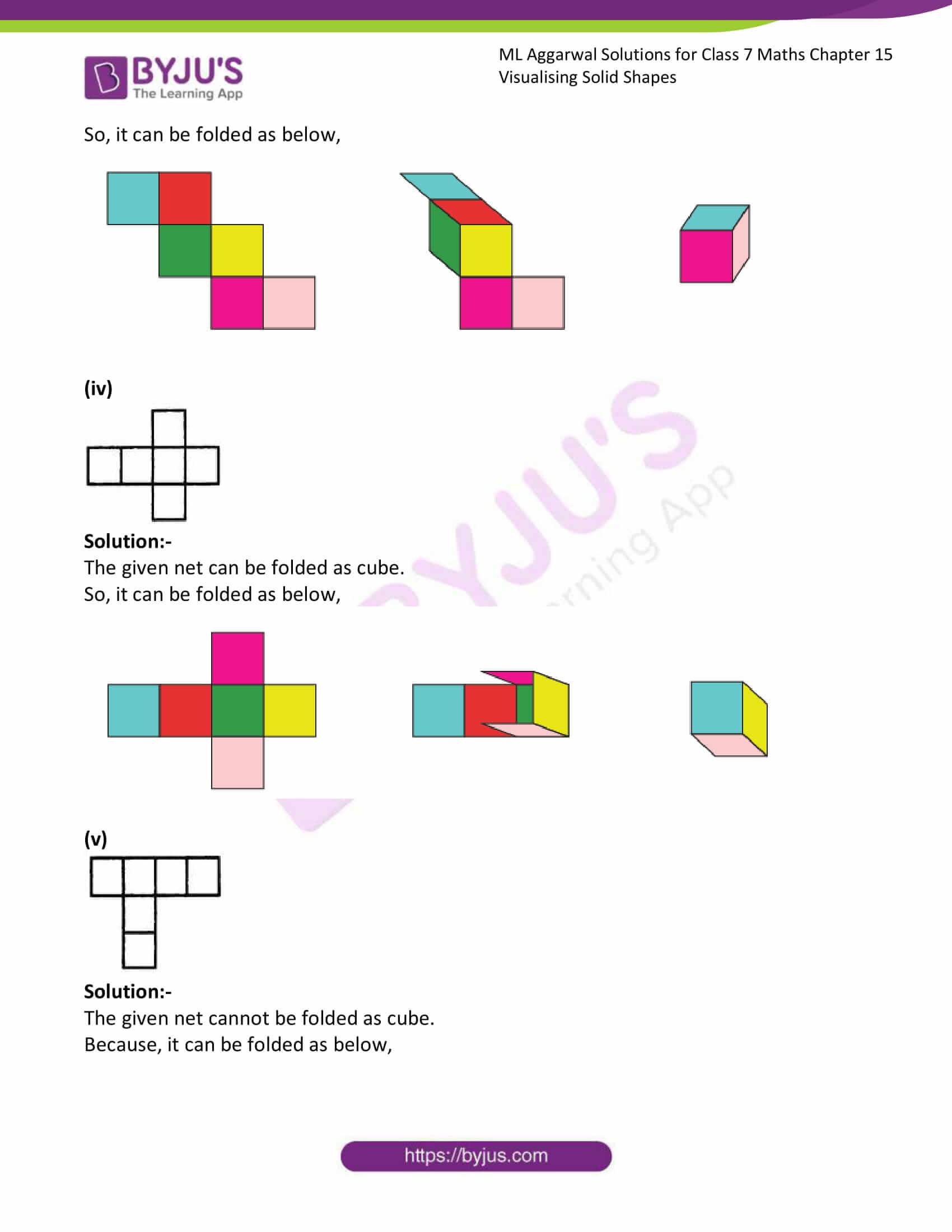 ml aggarwal sol class 7 maths chapter 15 4