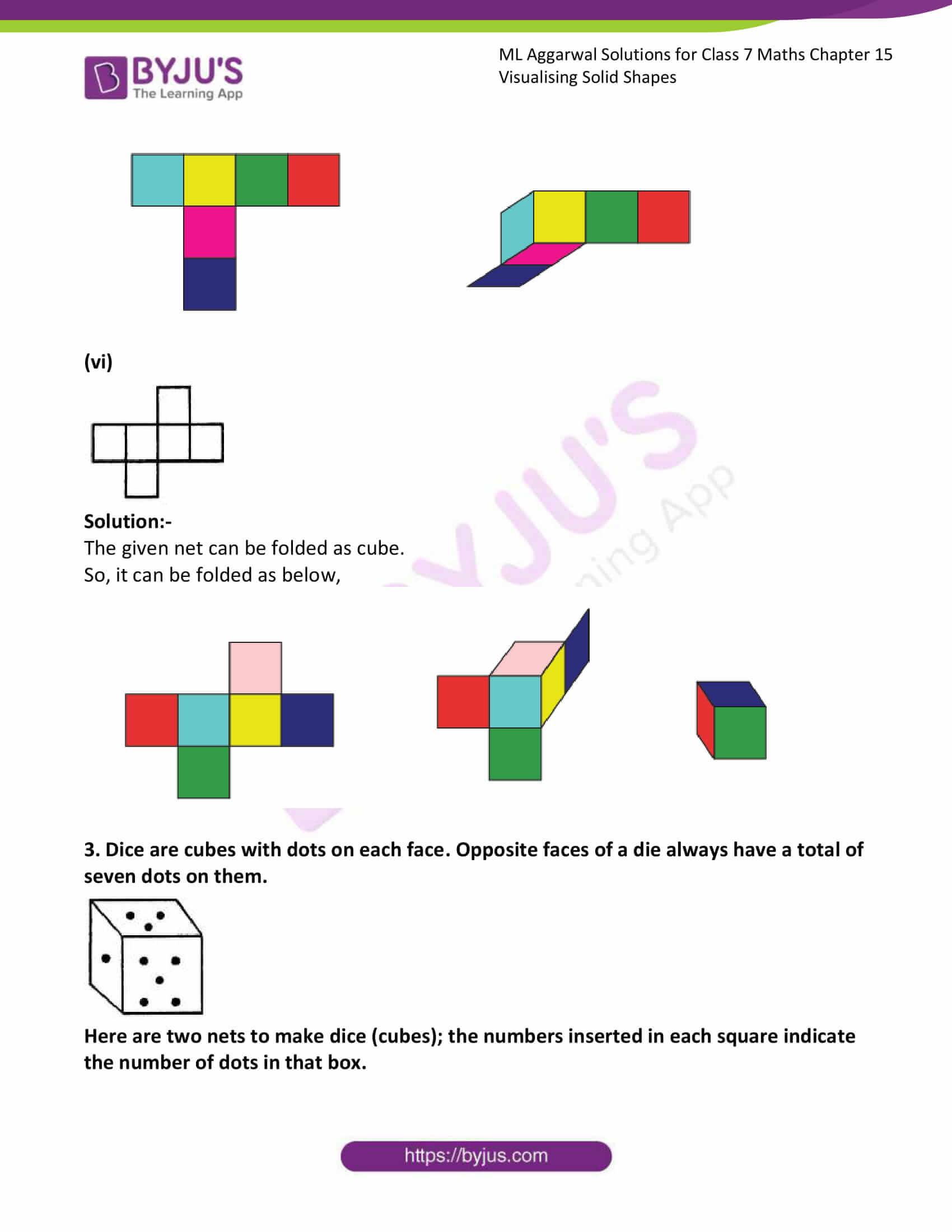 ml aggarwal sol class 7 maths chapter 15 5