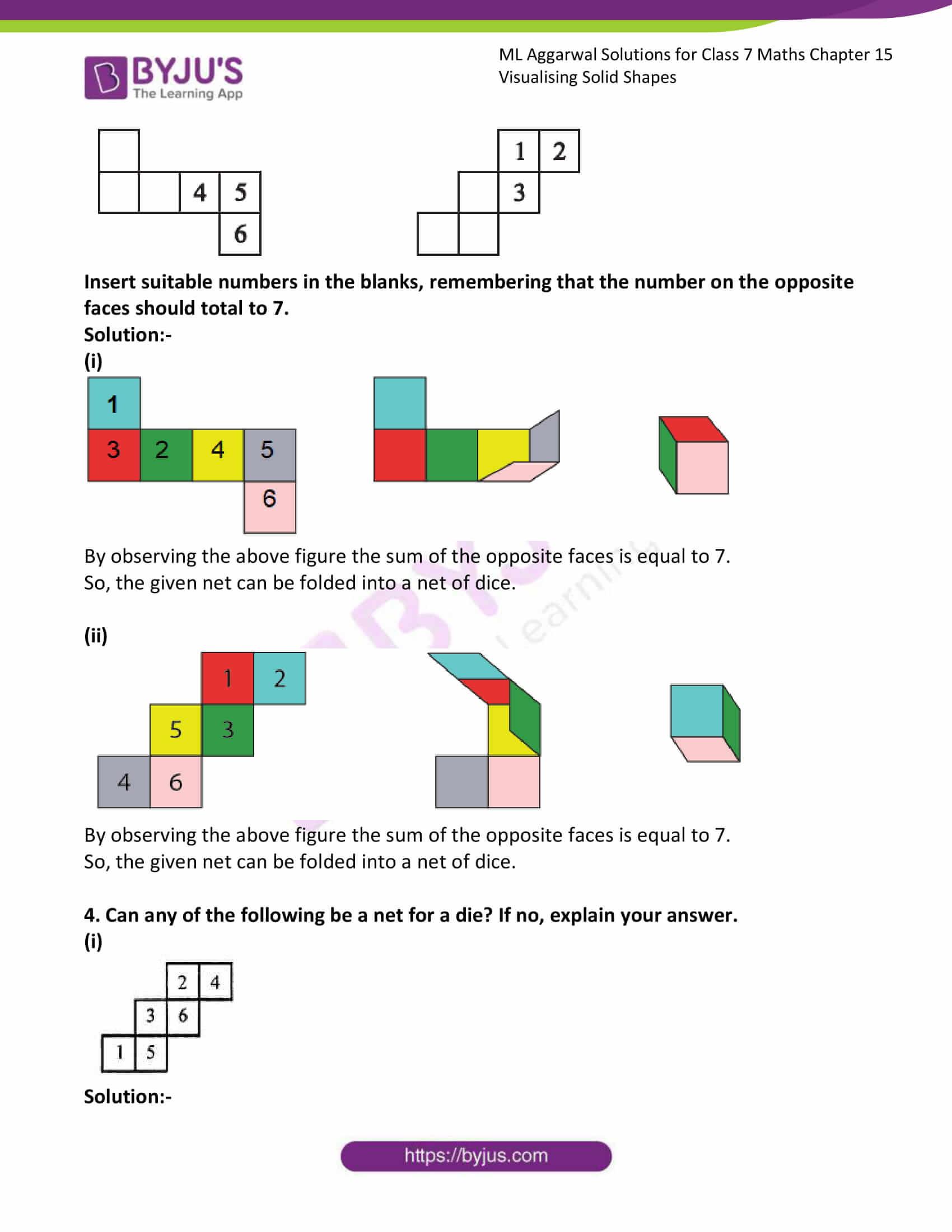 ml aggarwal sol class 7 maths chapter 15 6