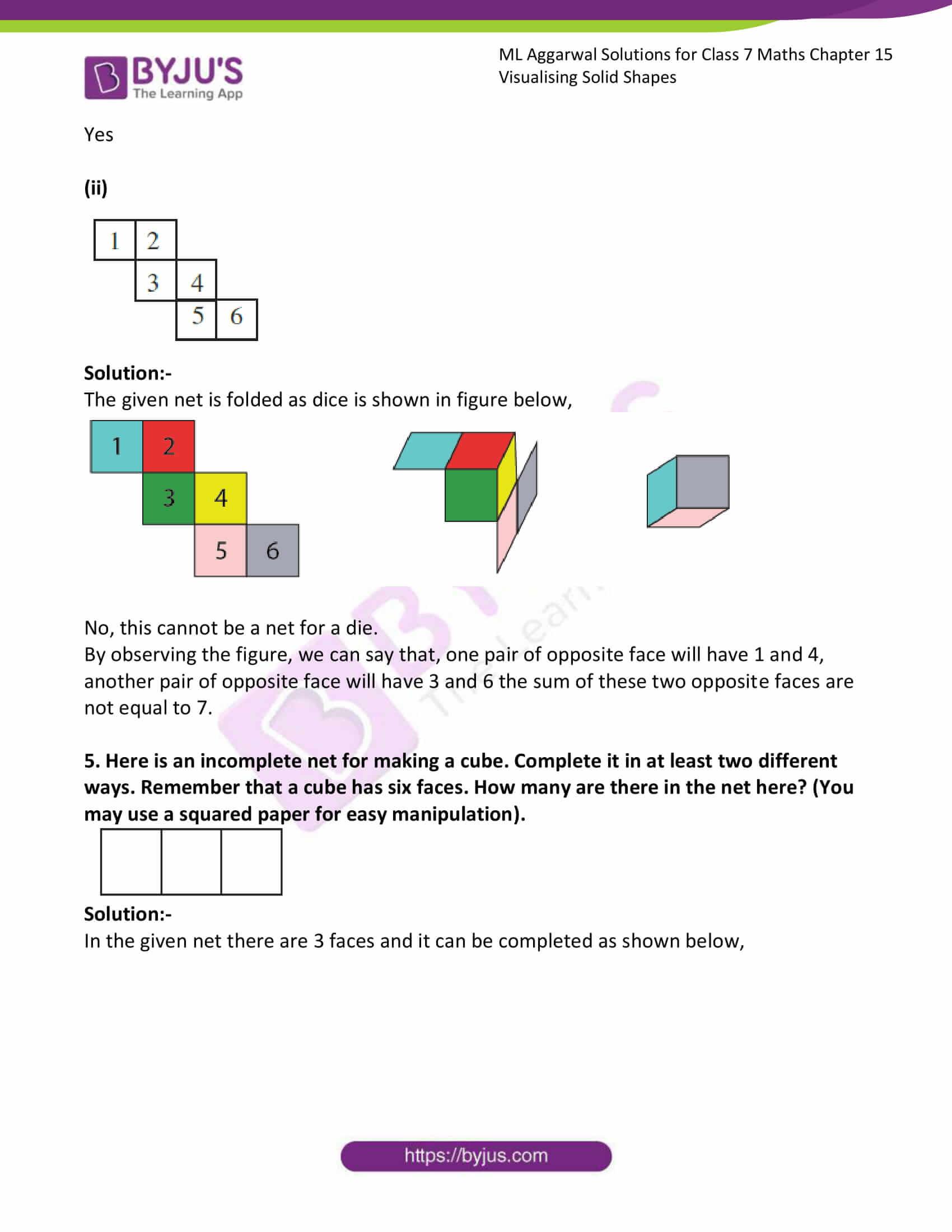 ml aggarwal sol class 7 maths chapter 15 7