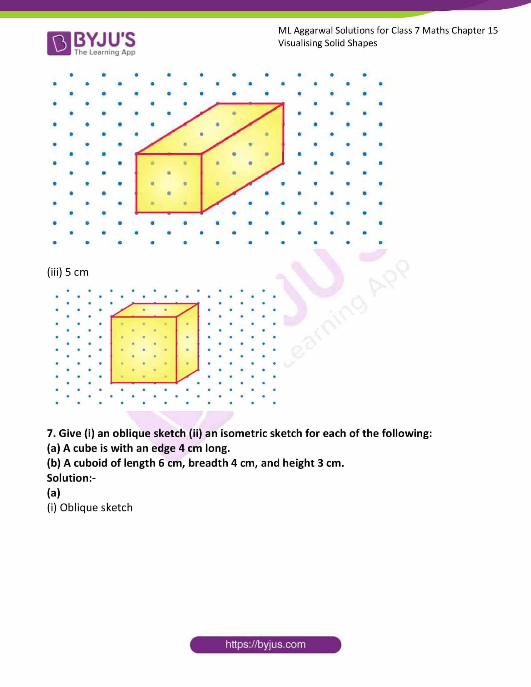 ml aggarwal sol class 7 maths chapter 15 9