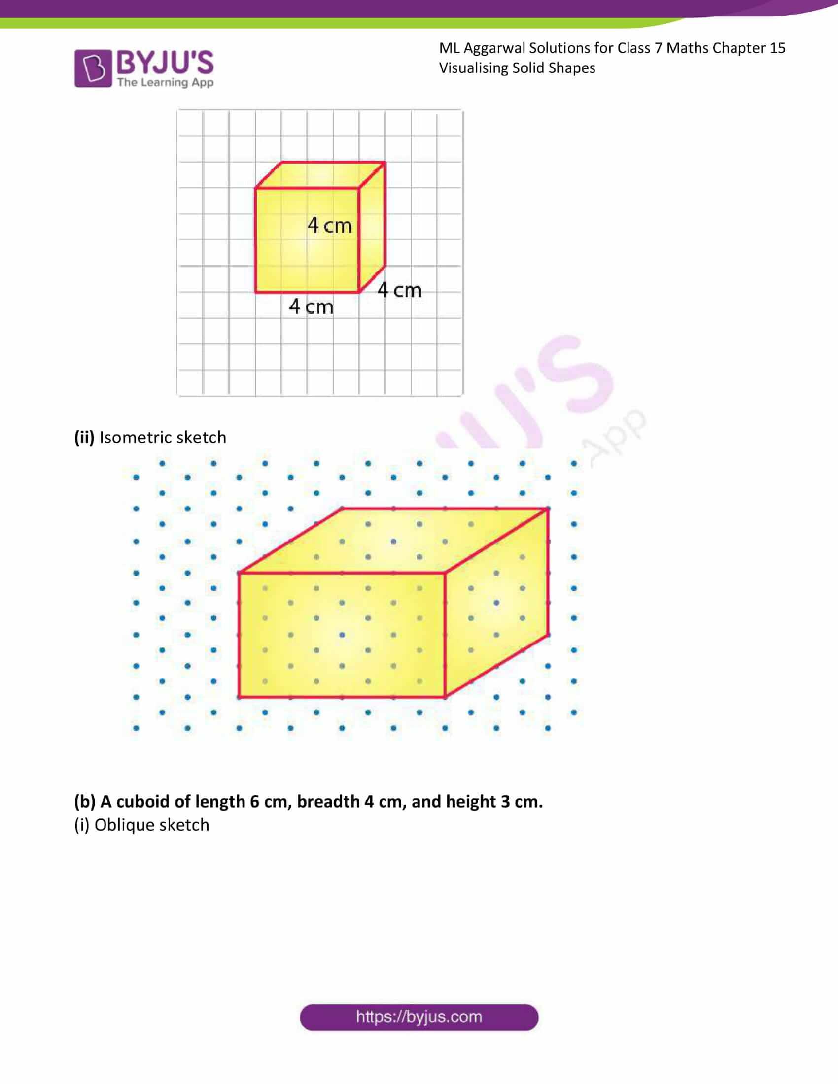ml aggarwal sol class 7 maths chapter 15 10