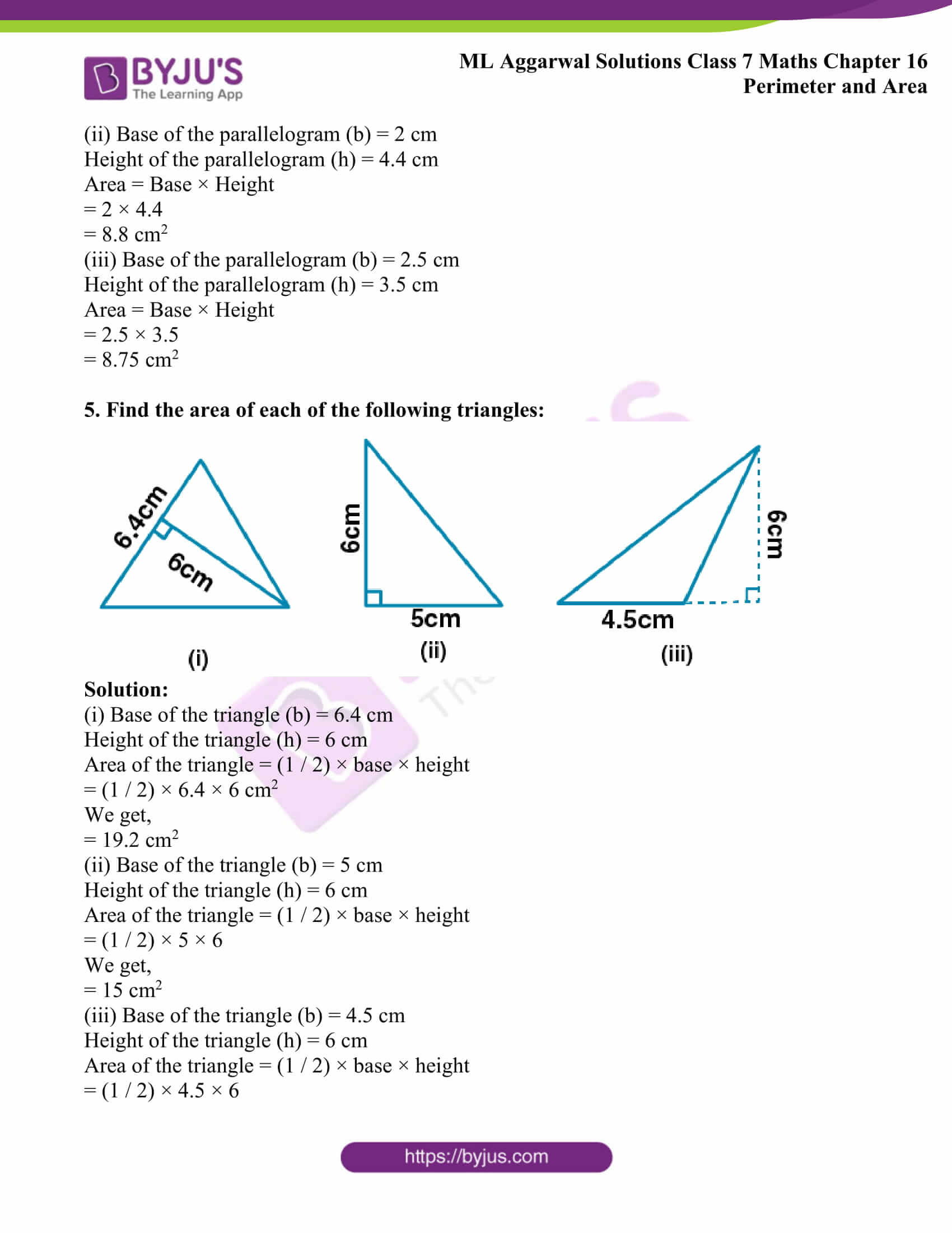ml aggarwal sol class 7 maths chapter 16 4