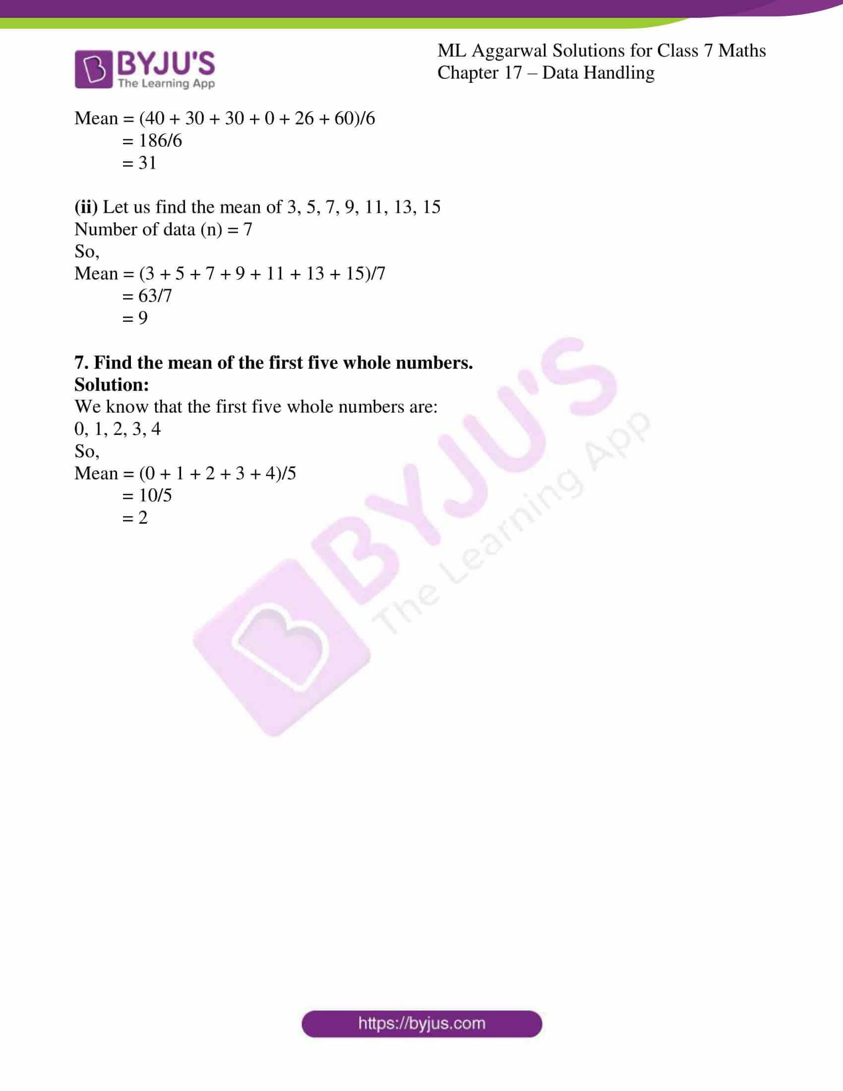 ml aggarwal sol class 7 maths chapter 17 7