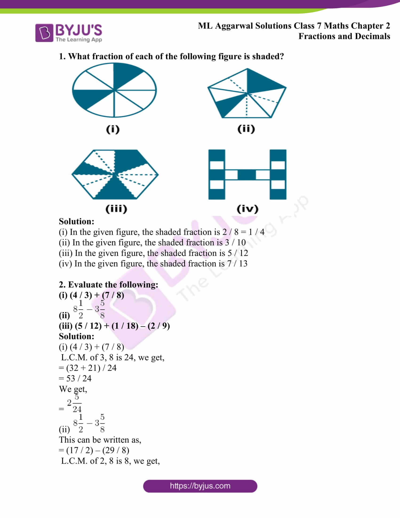 ml aggarwal sol class 7 maths chapter 2 1