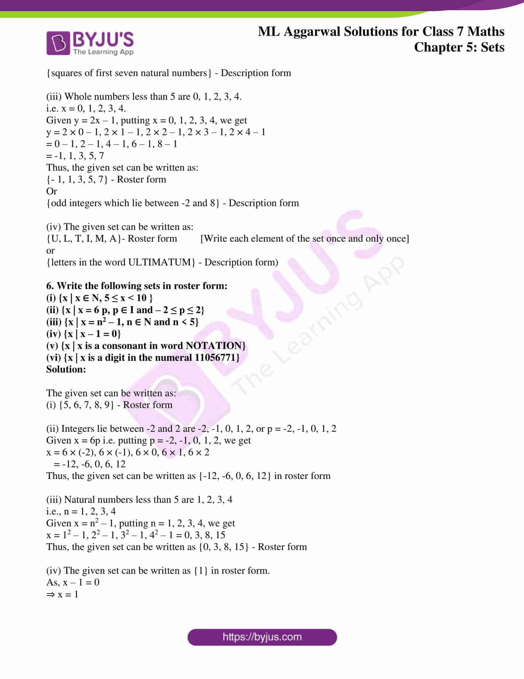 ml aggarwal sol class 7 maths chapter 5 3