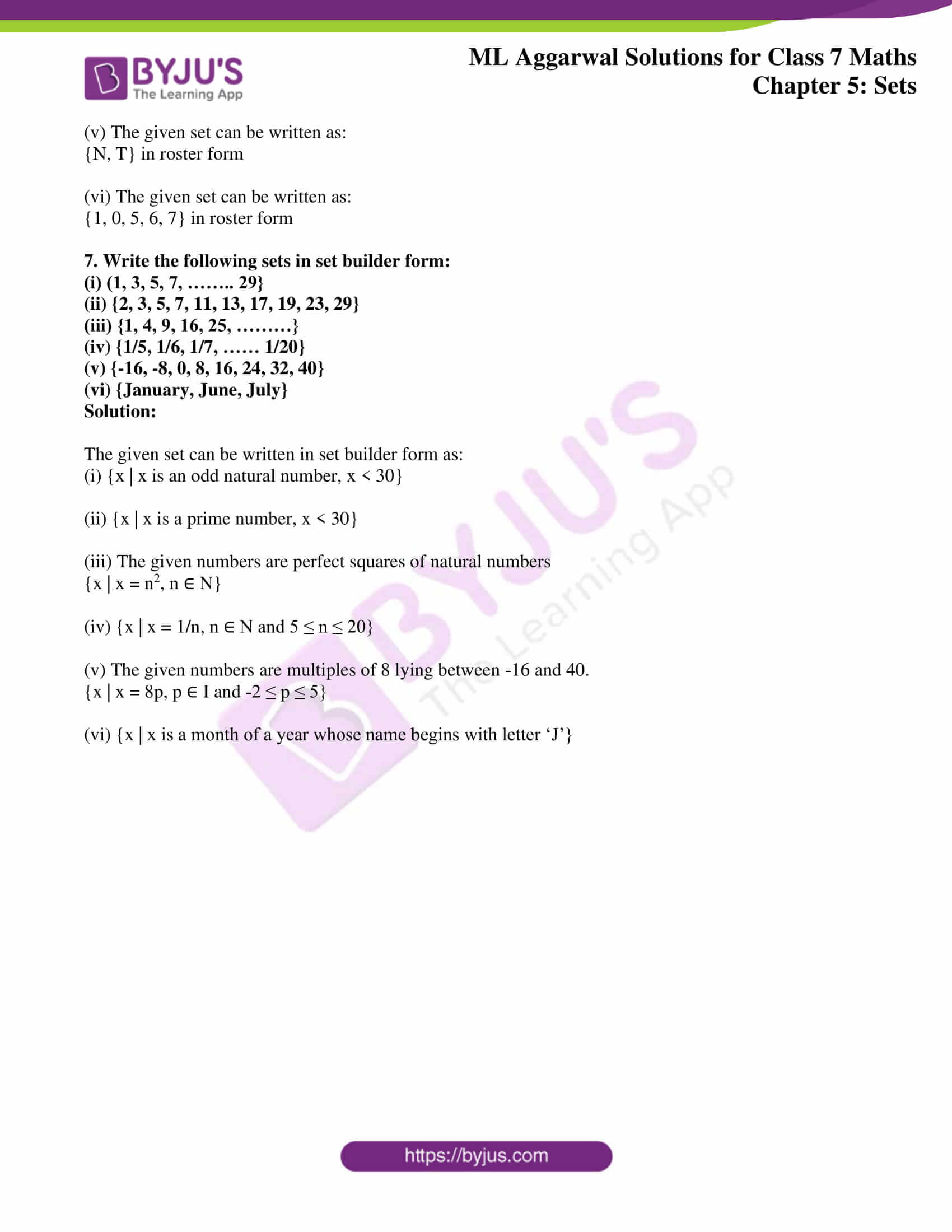 ml aggarwal sol class 7 maths chapter 5 4