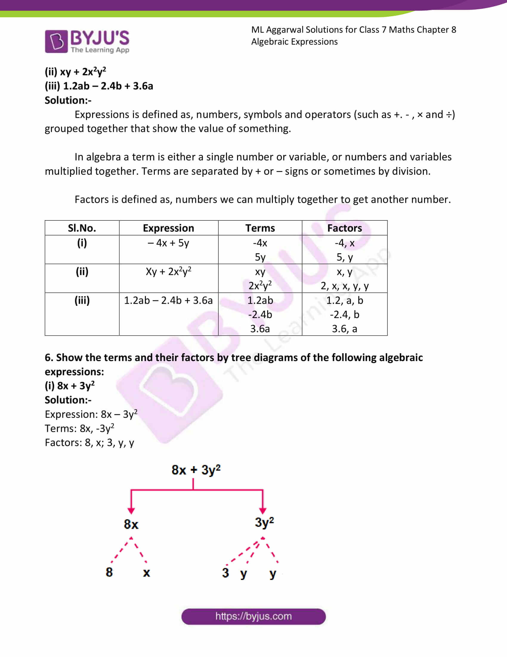 ml aggarwal sol class 7 maths chapter 8 3