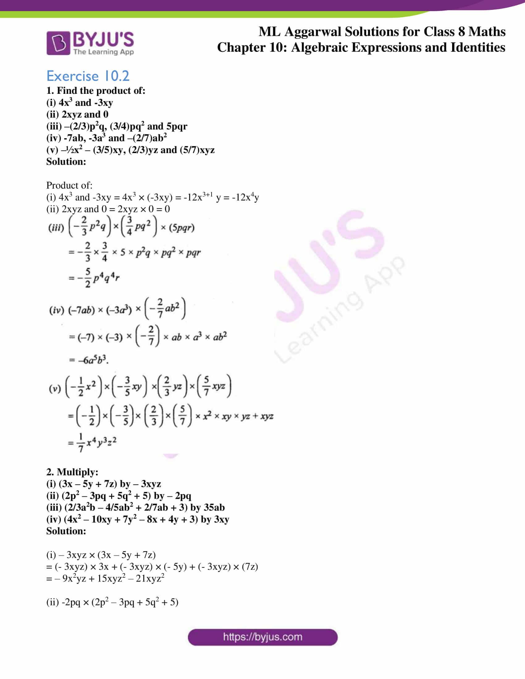 ml aggarwal sol mathematics class 8 ch 10 05