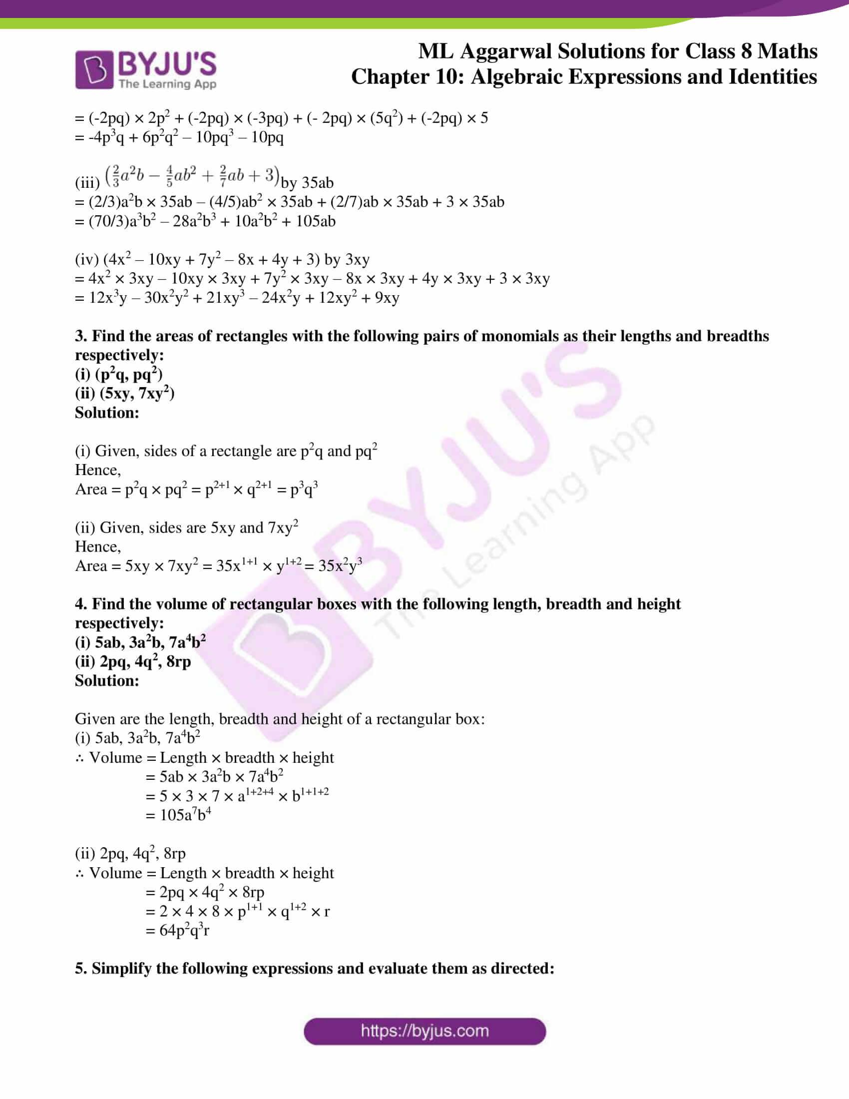 ml aggarwal sol mathematics class 8 ch 10 06