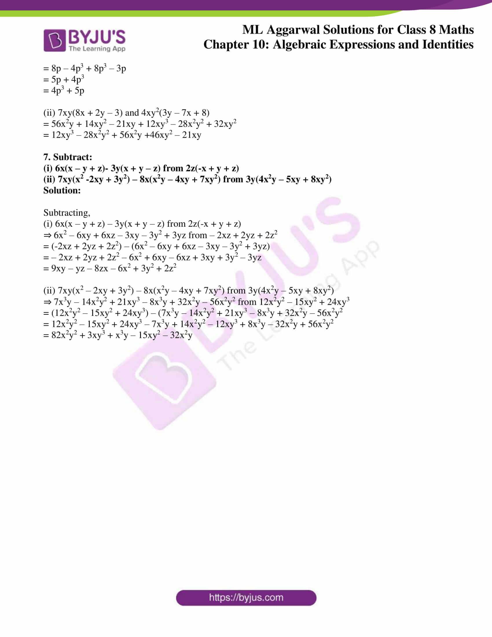 ml aggarwal sol mathematics class 8 ch 10 08