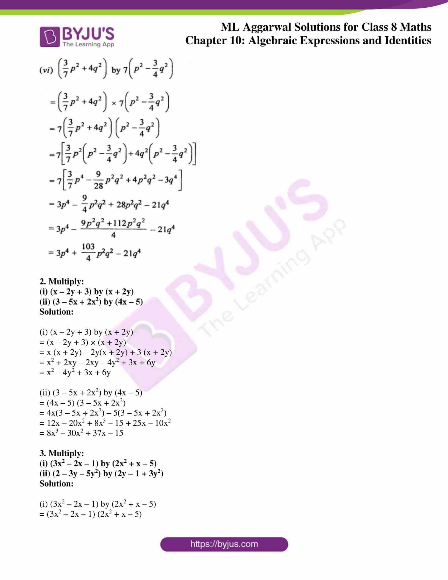ml aggarwal sol mathematics class 8 ch 10 10