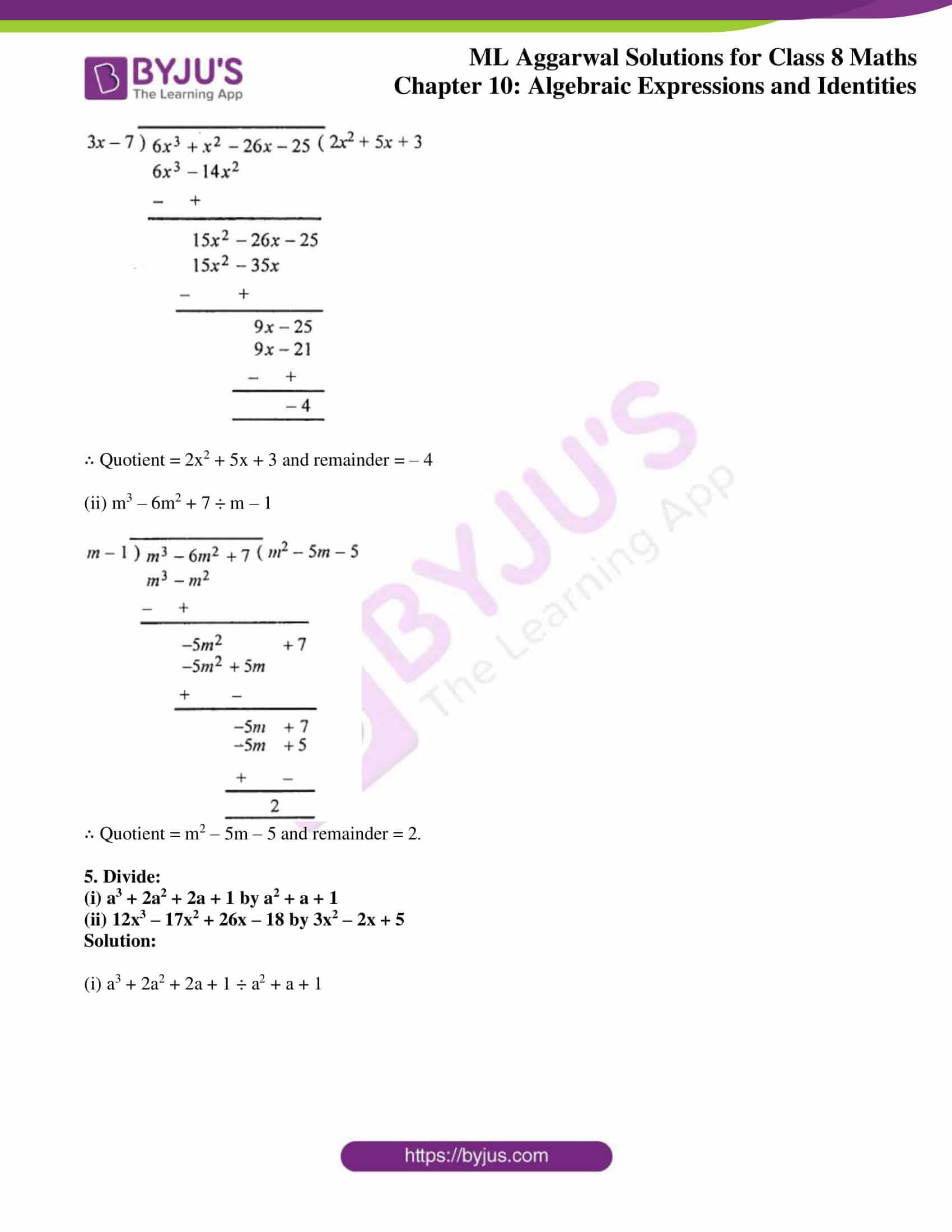 ml aggarwal sol mathematics class 8 ch 10 16