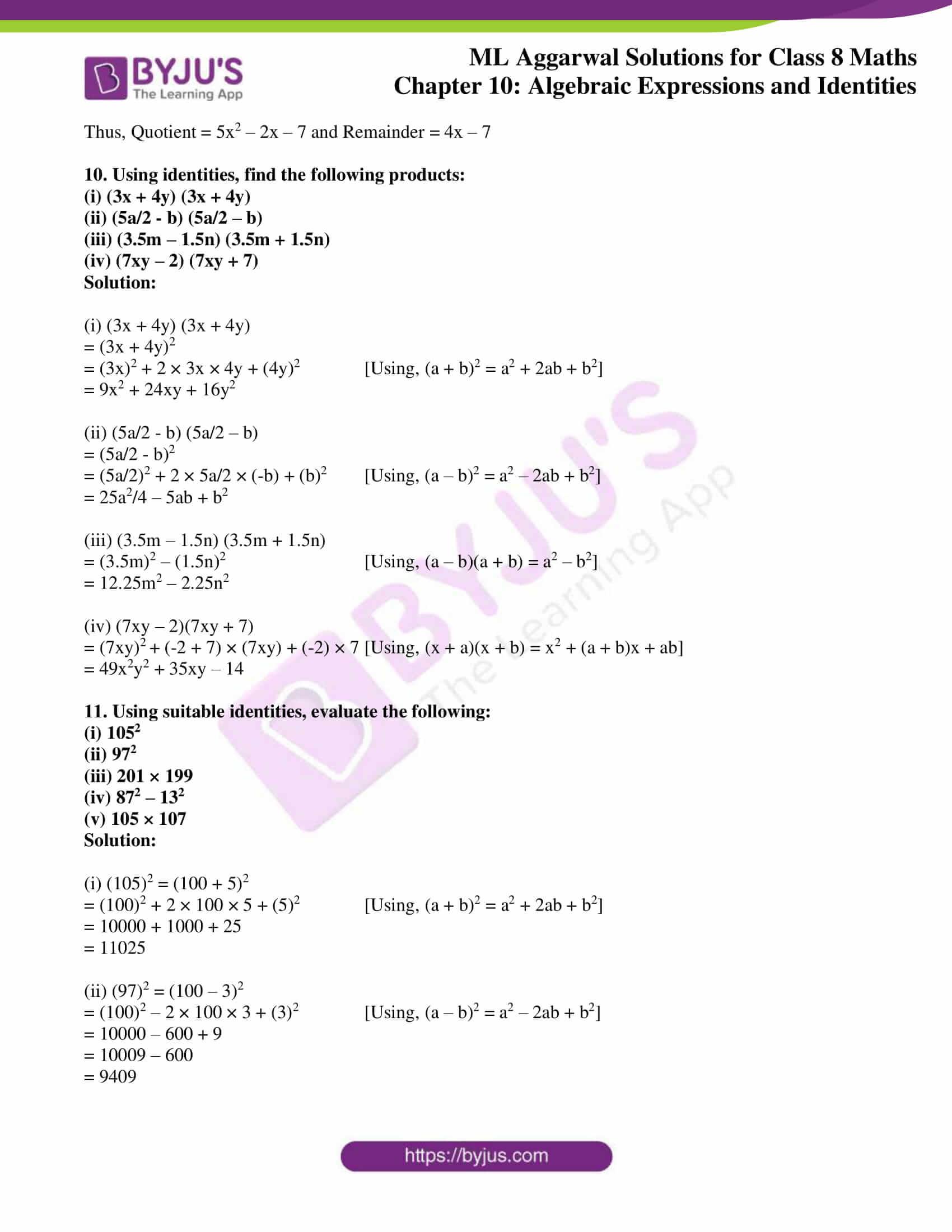 ml aggarwal sol mathematics class 8 ch 10 29