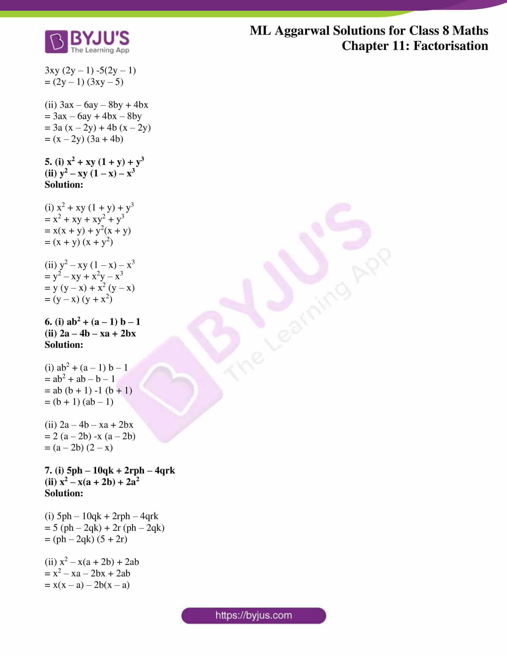 ml aggarwal sol mathematics class 8 ch 11 04