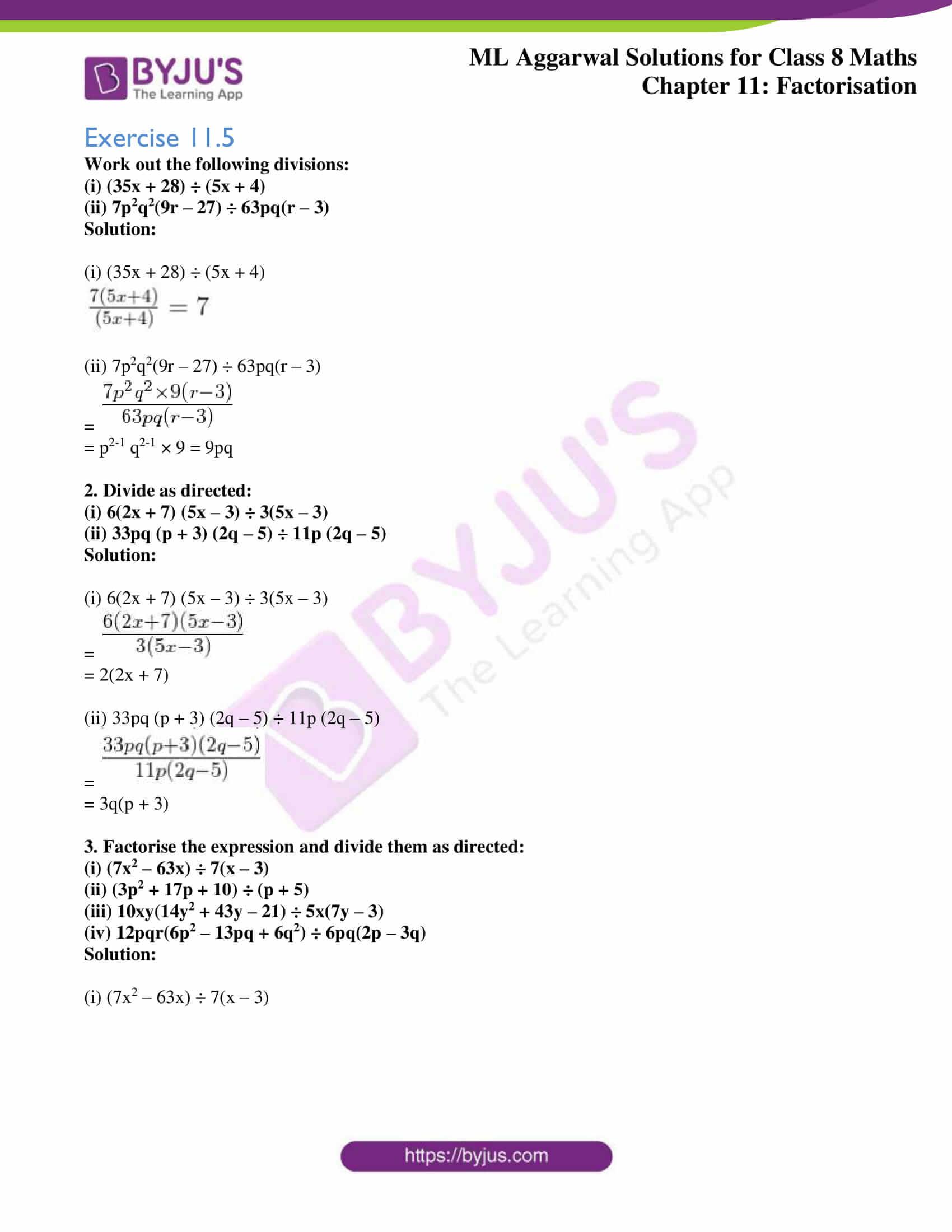 ml aggarwal sol mathematics class 8 ch 11 16