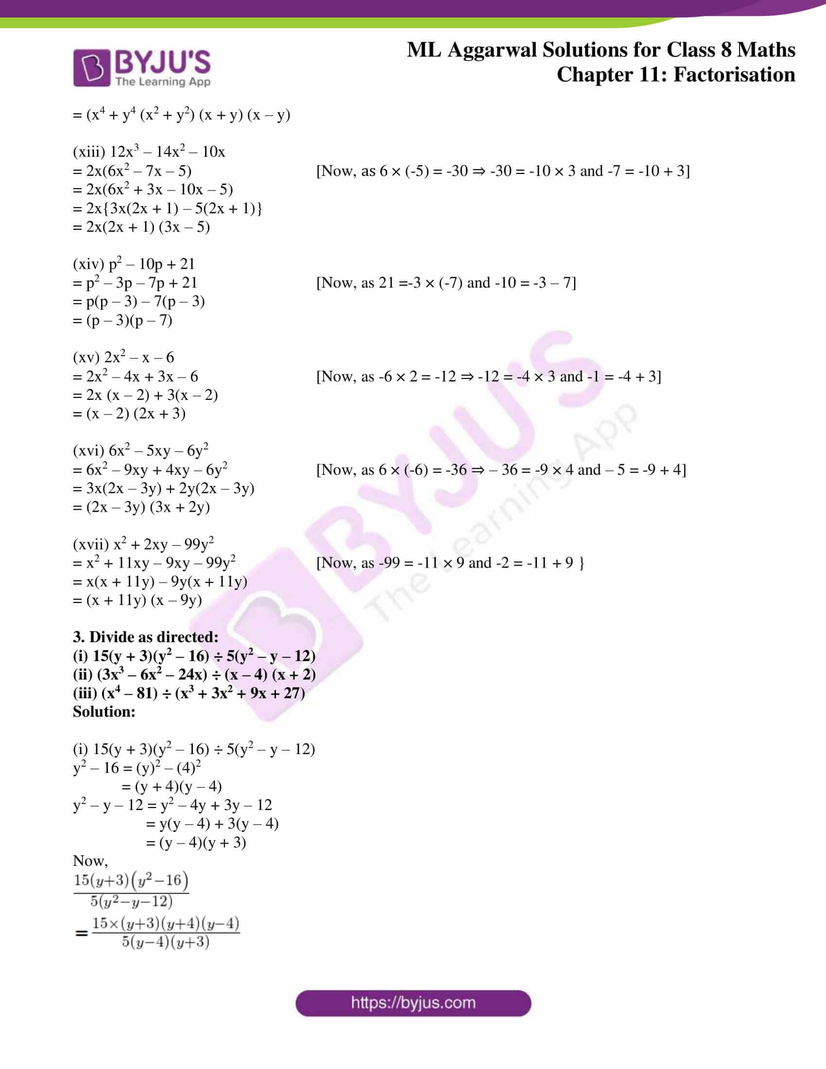 ml aggarwal sol mathematics class 8 ch 11 20