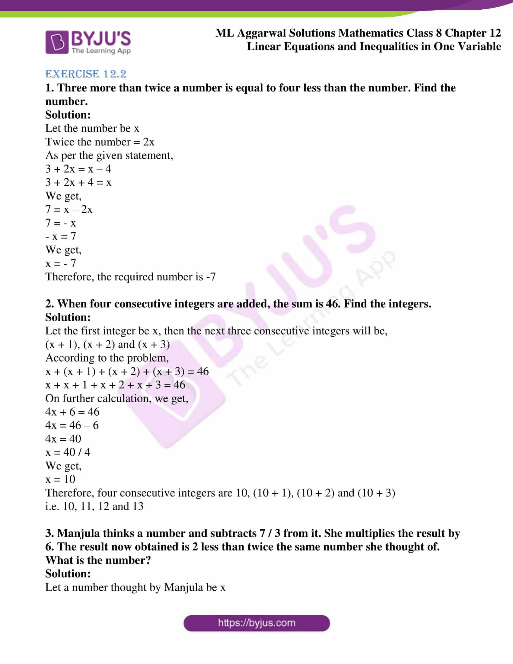 ml aggarwal sol mathematics class 8 ch 12 10