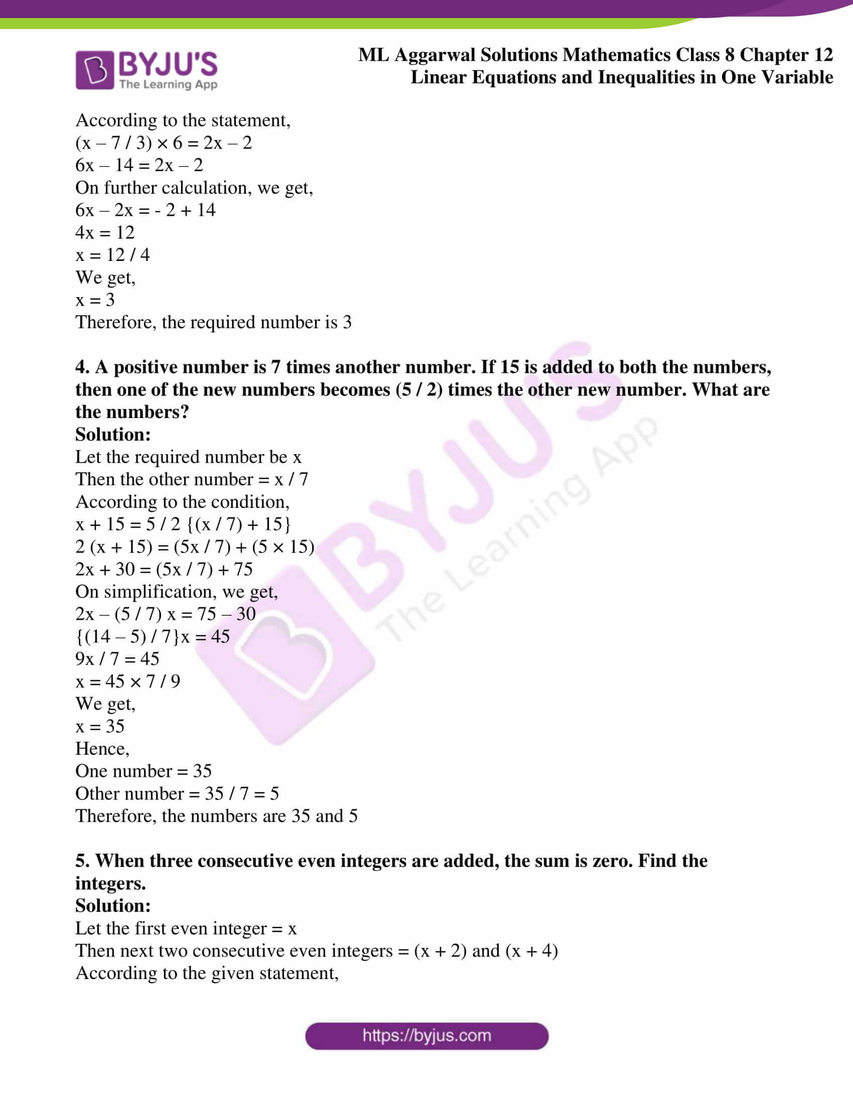 ml aggarwal sol mathematics class 8 ch 12 11