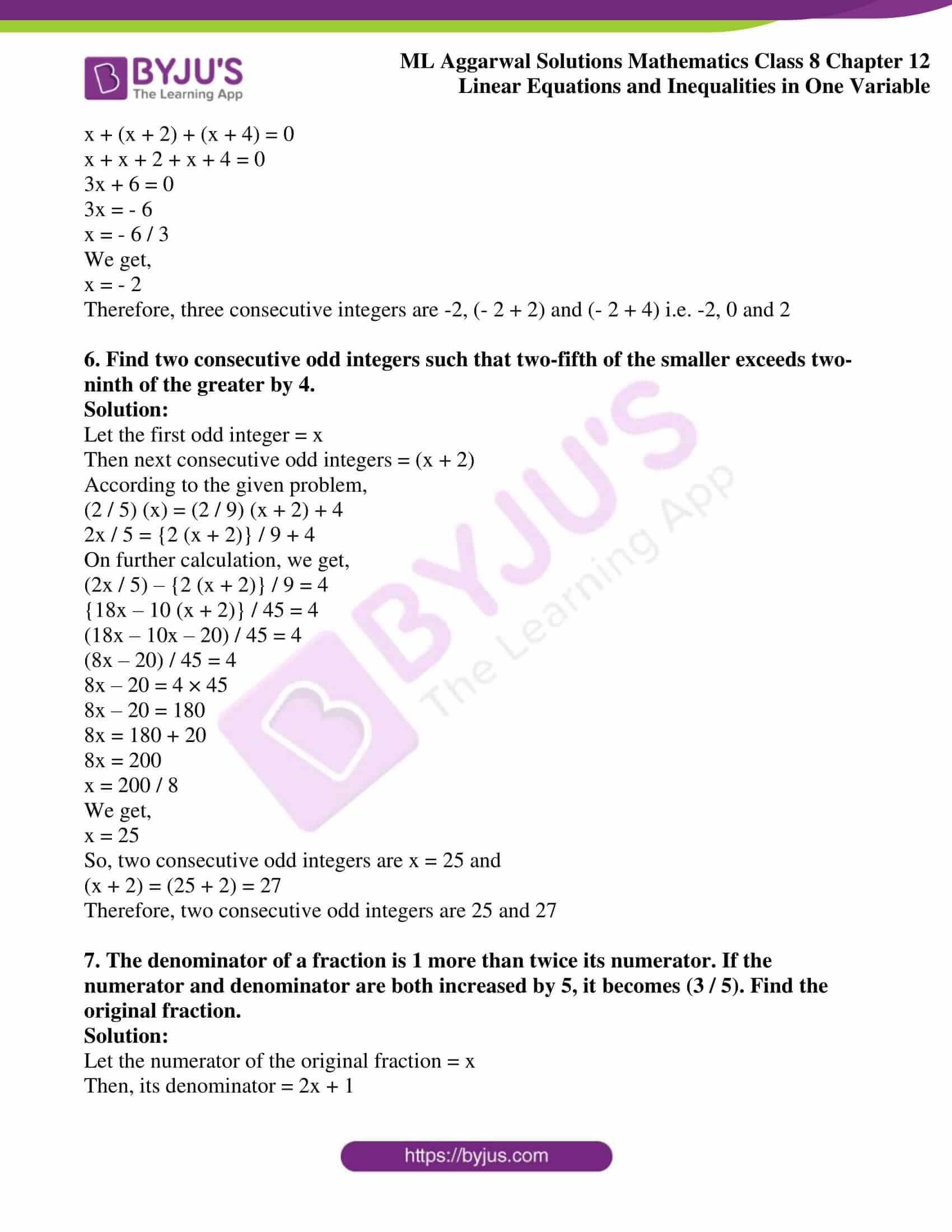 ml aggarwal sol mathematics class 8 ch 12 12