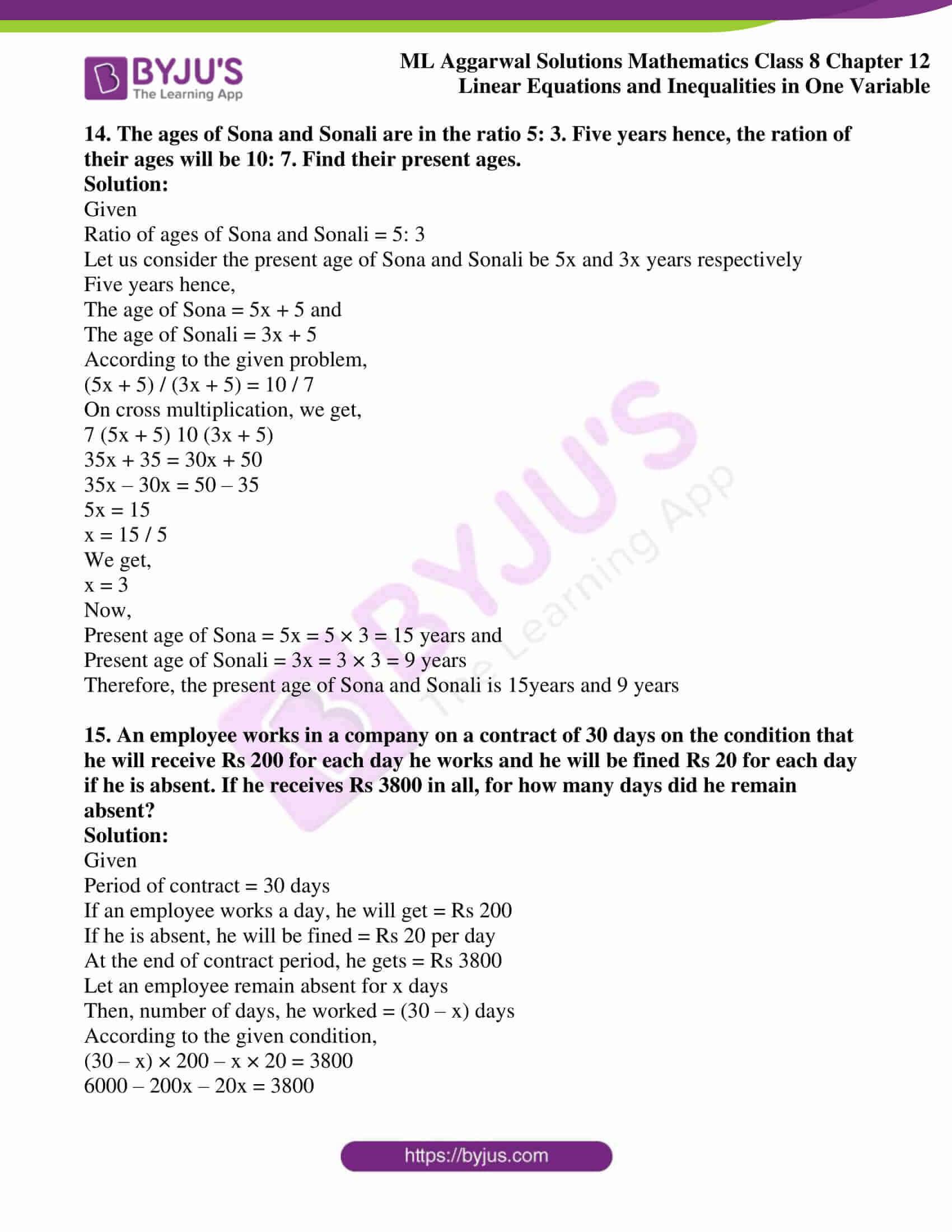 ml aggarwal sol mathematics class 8 ch 12 17