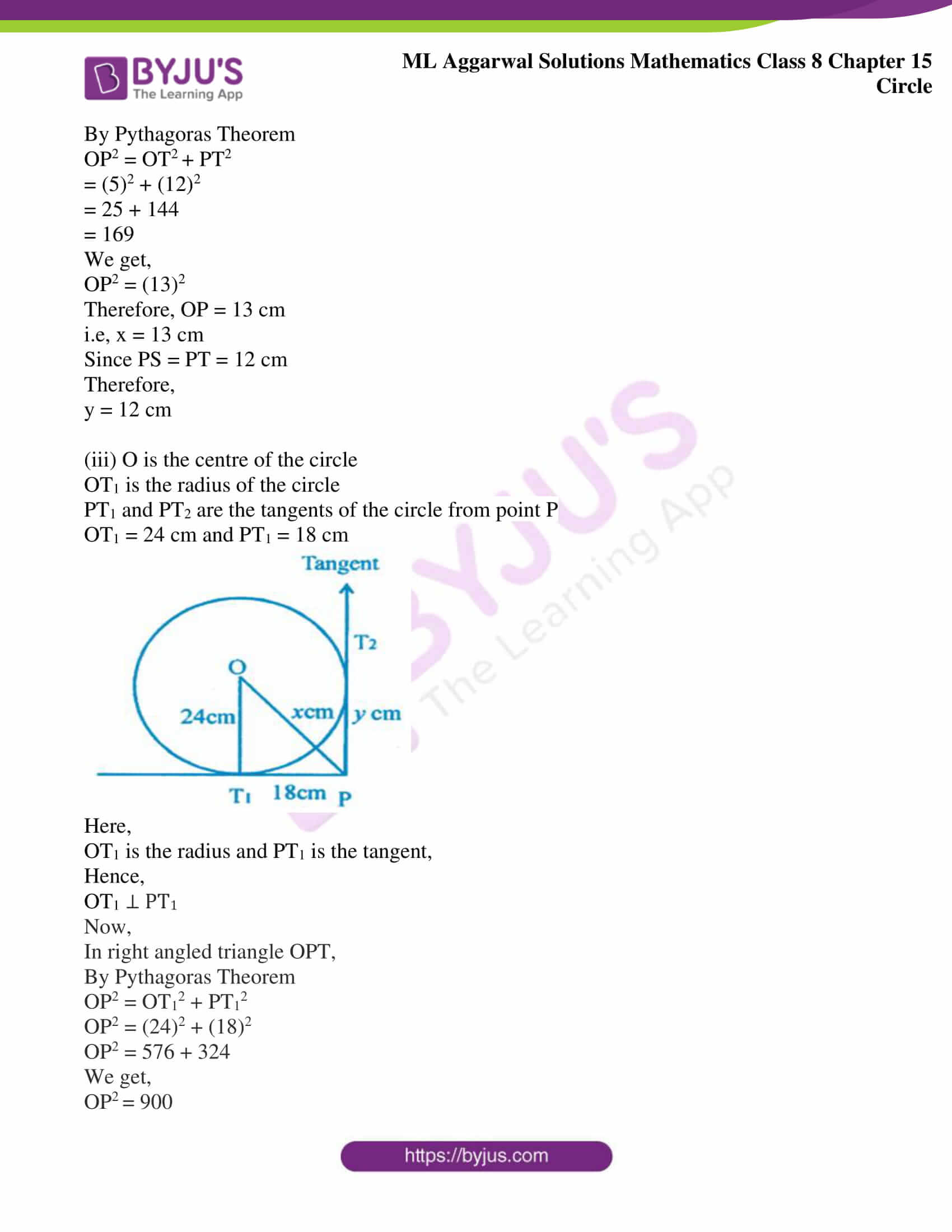 ml aggarwal sol mathematics class 8 ch 15 11