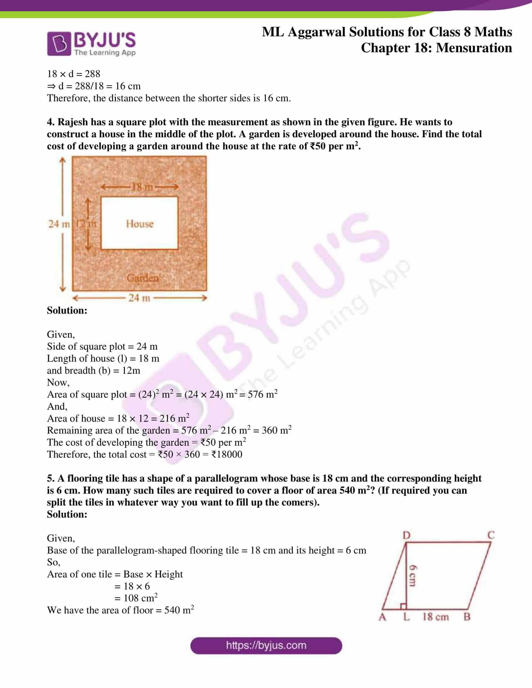 ml aggarwal sol mathematics class 8 ch 18 02