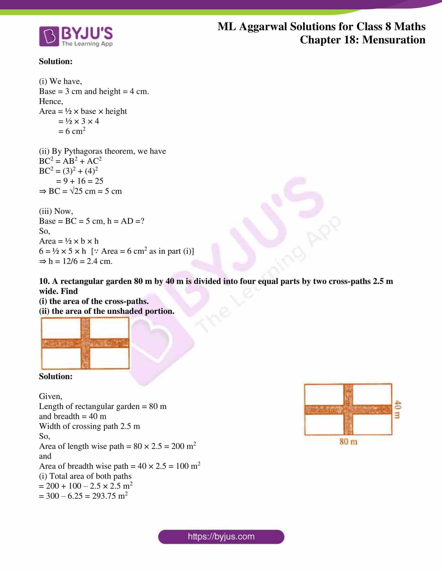 ml aggarwal sol mathematics class 8 ch 18 05