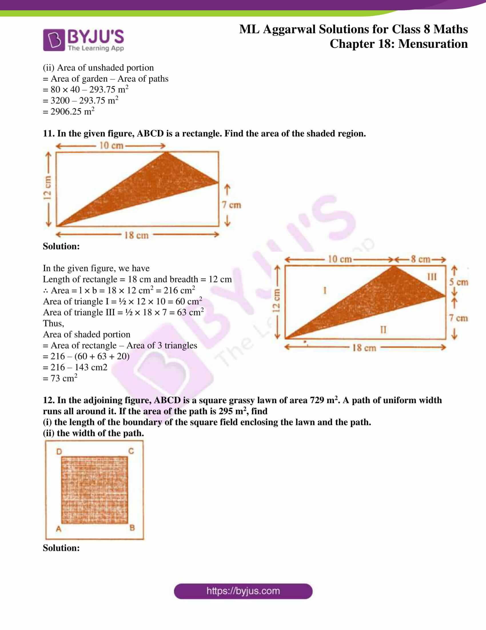 ml aggarwal sol mathematics class 8 ch 18 06