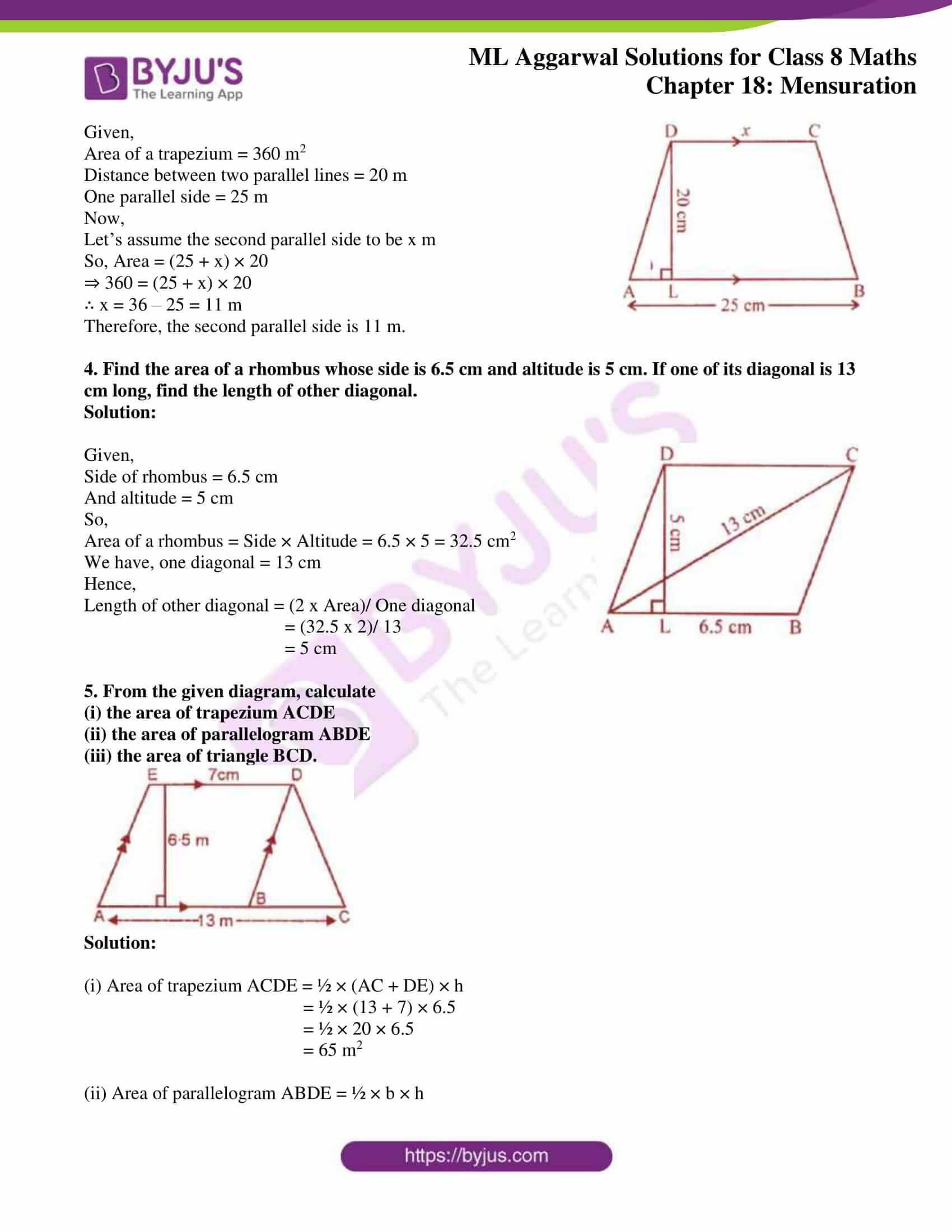ml aggarwal sol mathematics class 8 ch 18 09