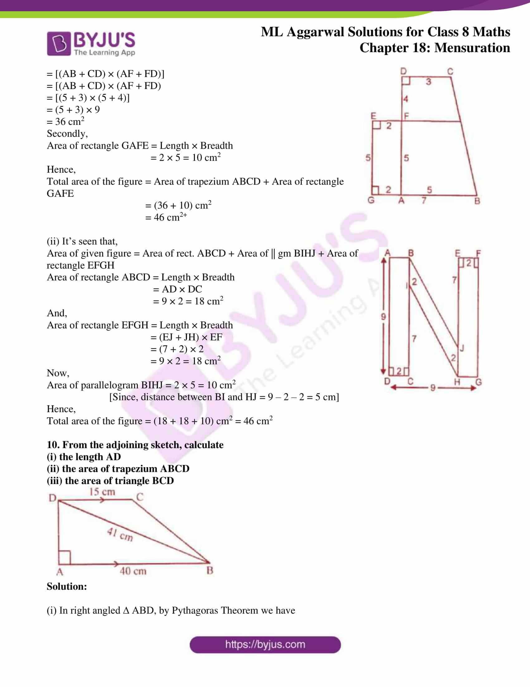 ml aggarwal sol mathematics class 8 ch 18 12