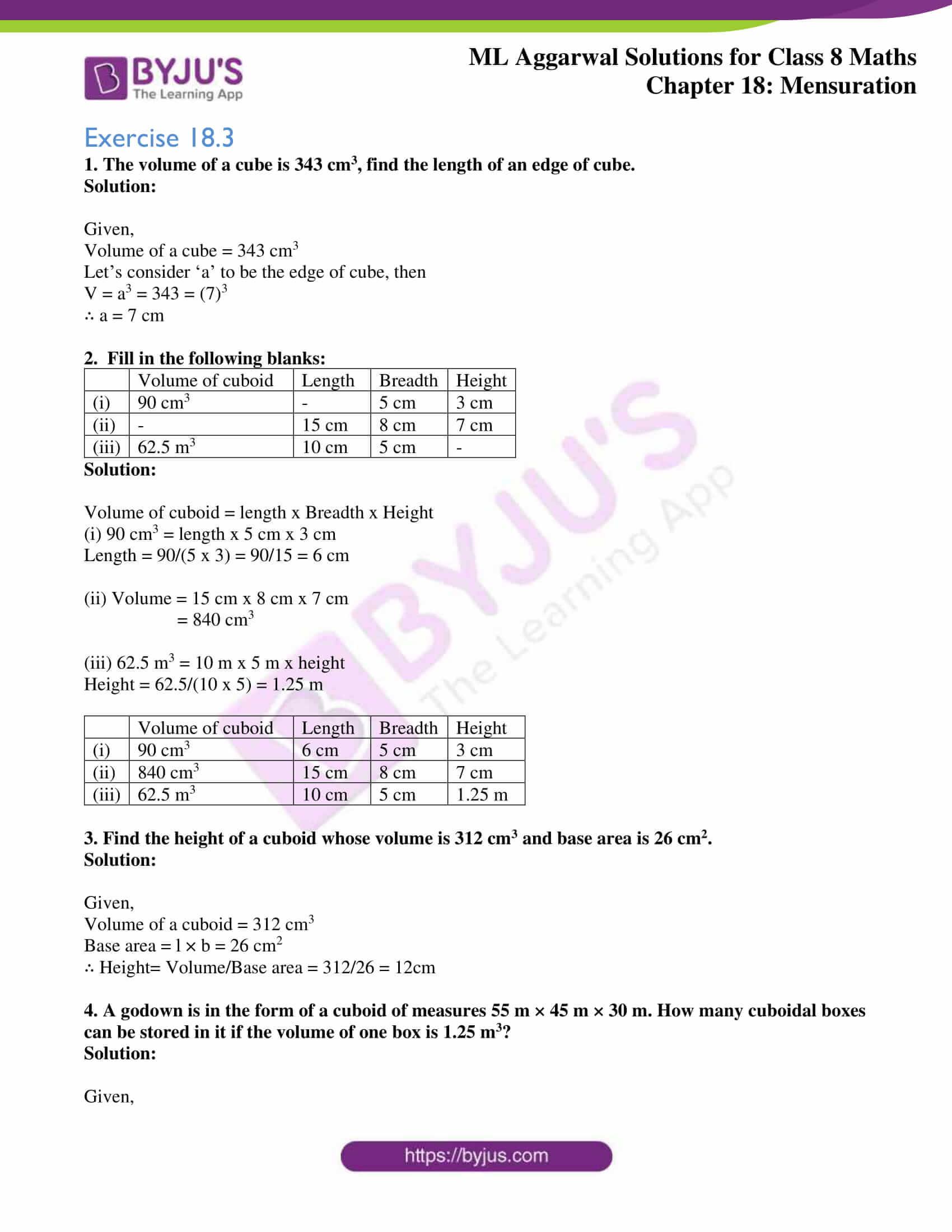 ml aggarwal sol mathematics class 8 ch 18 21