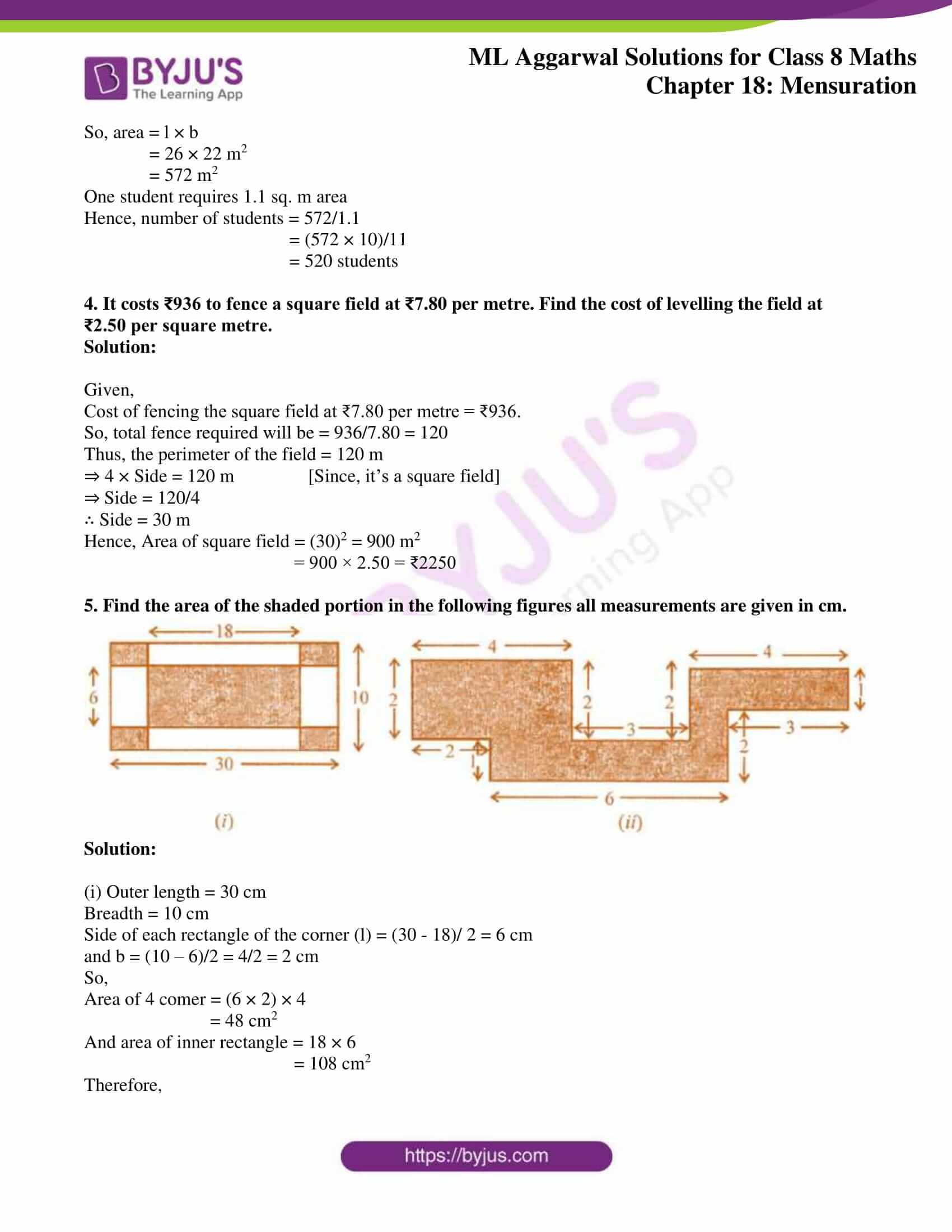 ml aggarwal sol mathematics class 8 ch 18 37