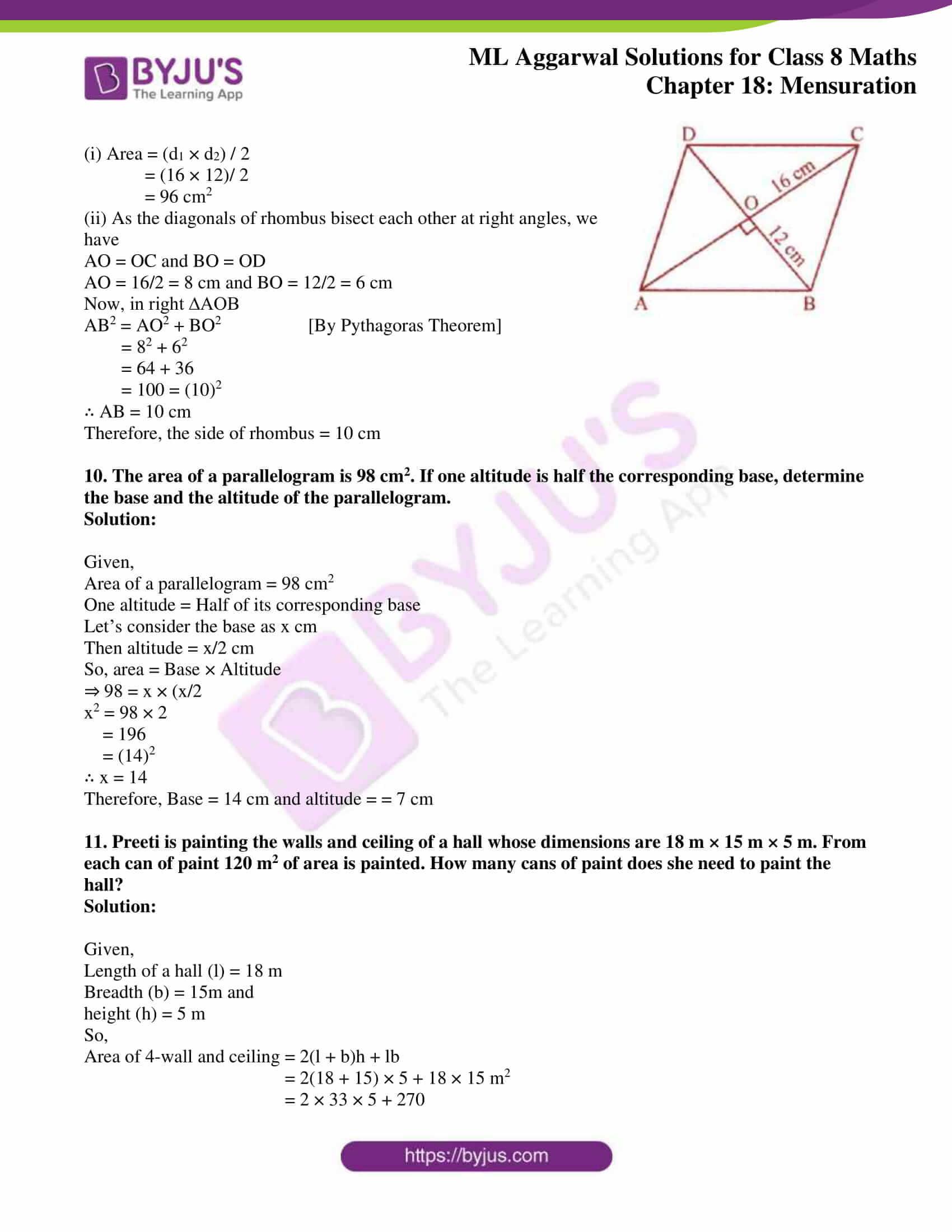 ml aggarwal sol mathematics class 8 ch 18 40