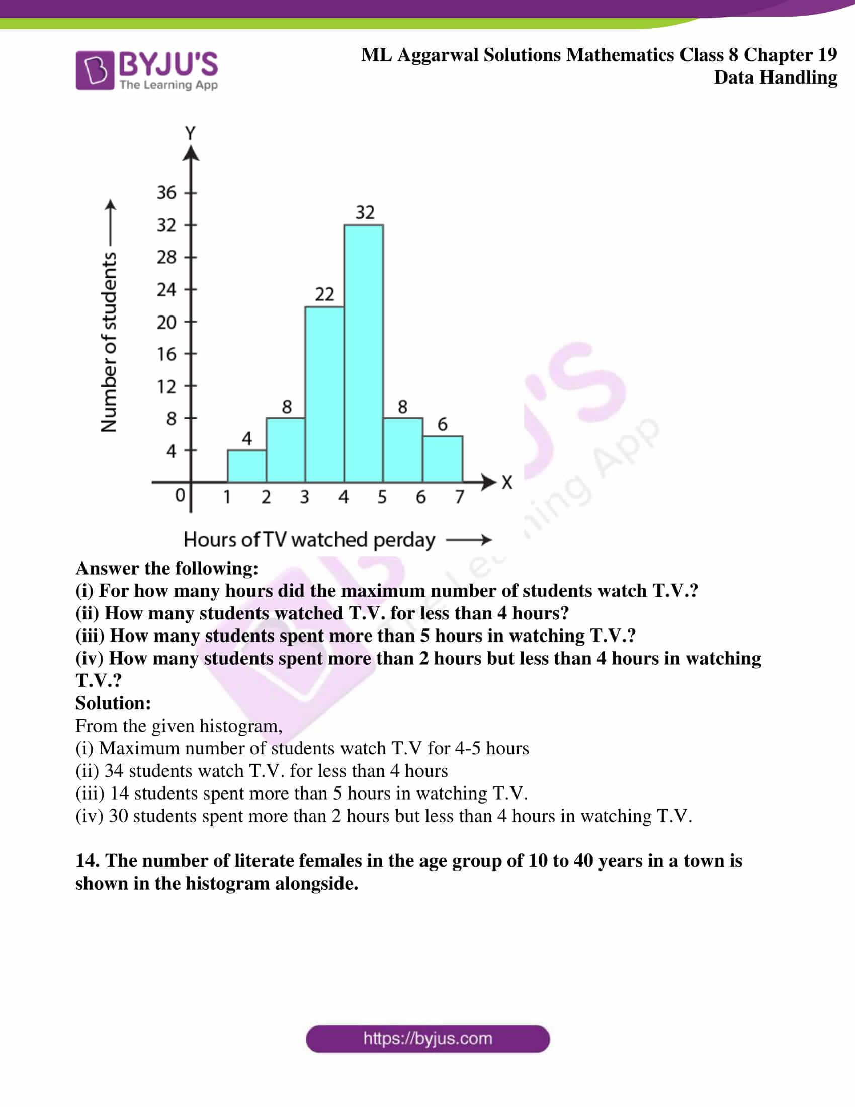 ml aggarwal sol mathematics class 8 ch 19 10