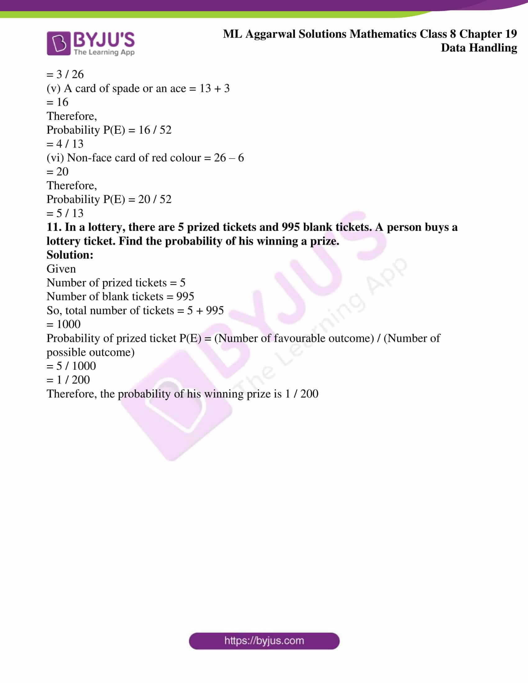 ml aggarwal sol mathematics class 8 ch 19 24