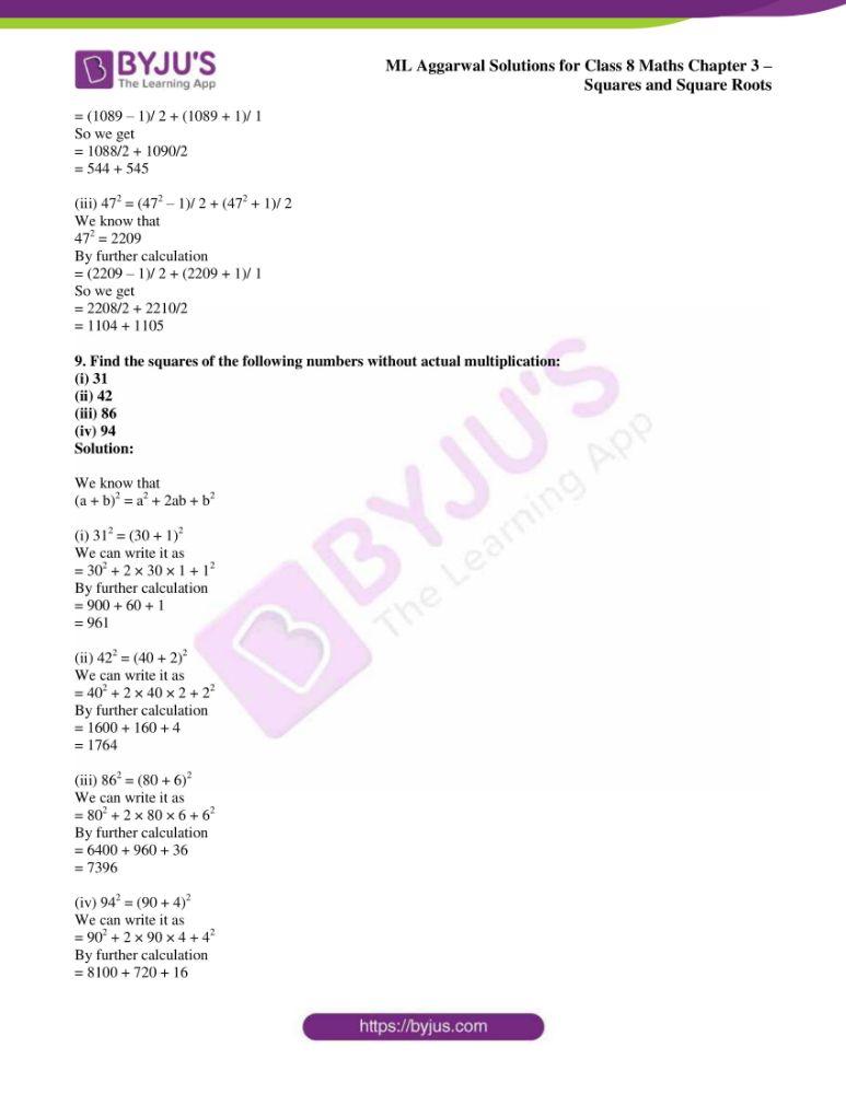ml aggarwal sol mathematics class 8 ch 3 09