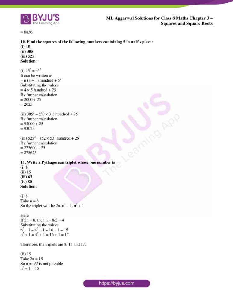 ml aggarwal sol mathematics class 8 ch 3 10