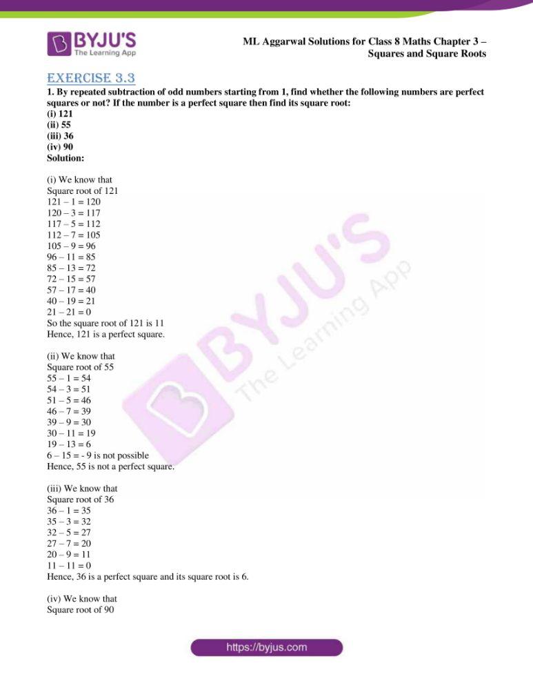 ml aggarwal sol mathematics class 8 ch 3 13