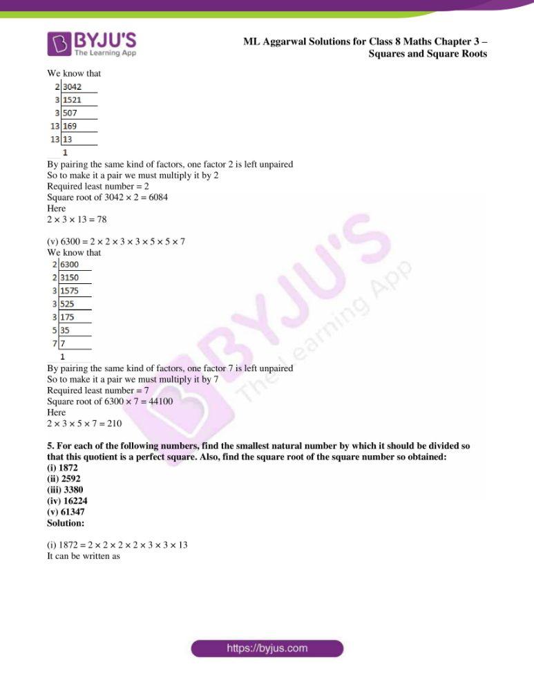 ml aggarwal sol mathematics class 8 ch 3 20
